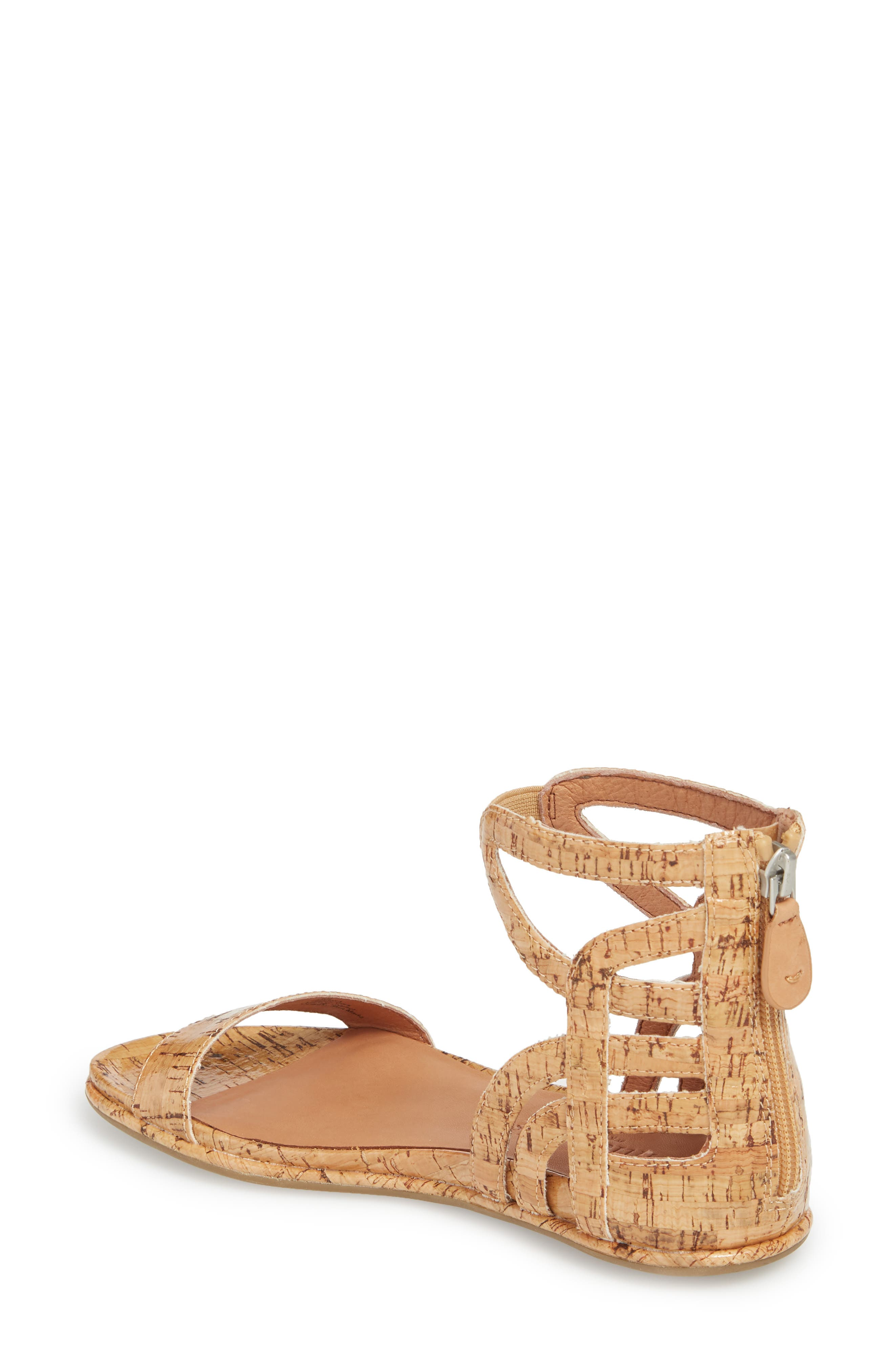 by Kenneth Cole Larissa Sandal,                             Alternate thumbnail 2, color,                             NATURAL