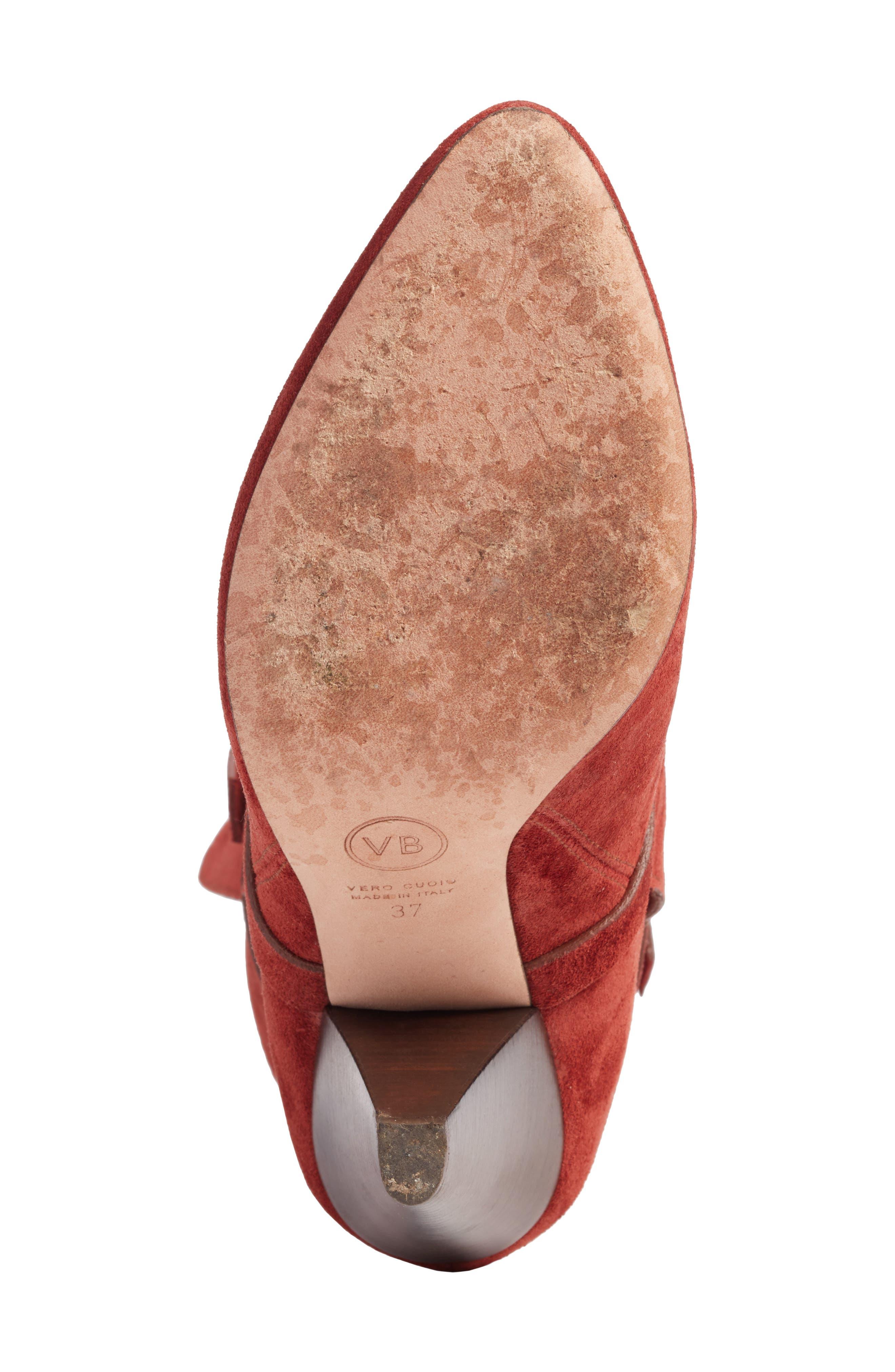 Hall Crisscross Tie Boot,                             Alternate thumbnail 6, color,                             220