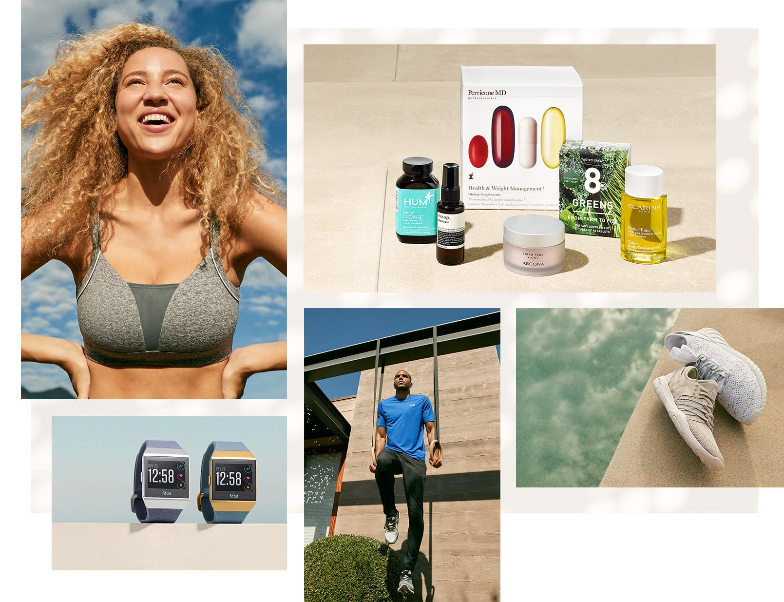 Hello healthy, hello happy. Shop women's workout and men's workout and gym.