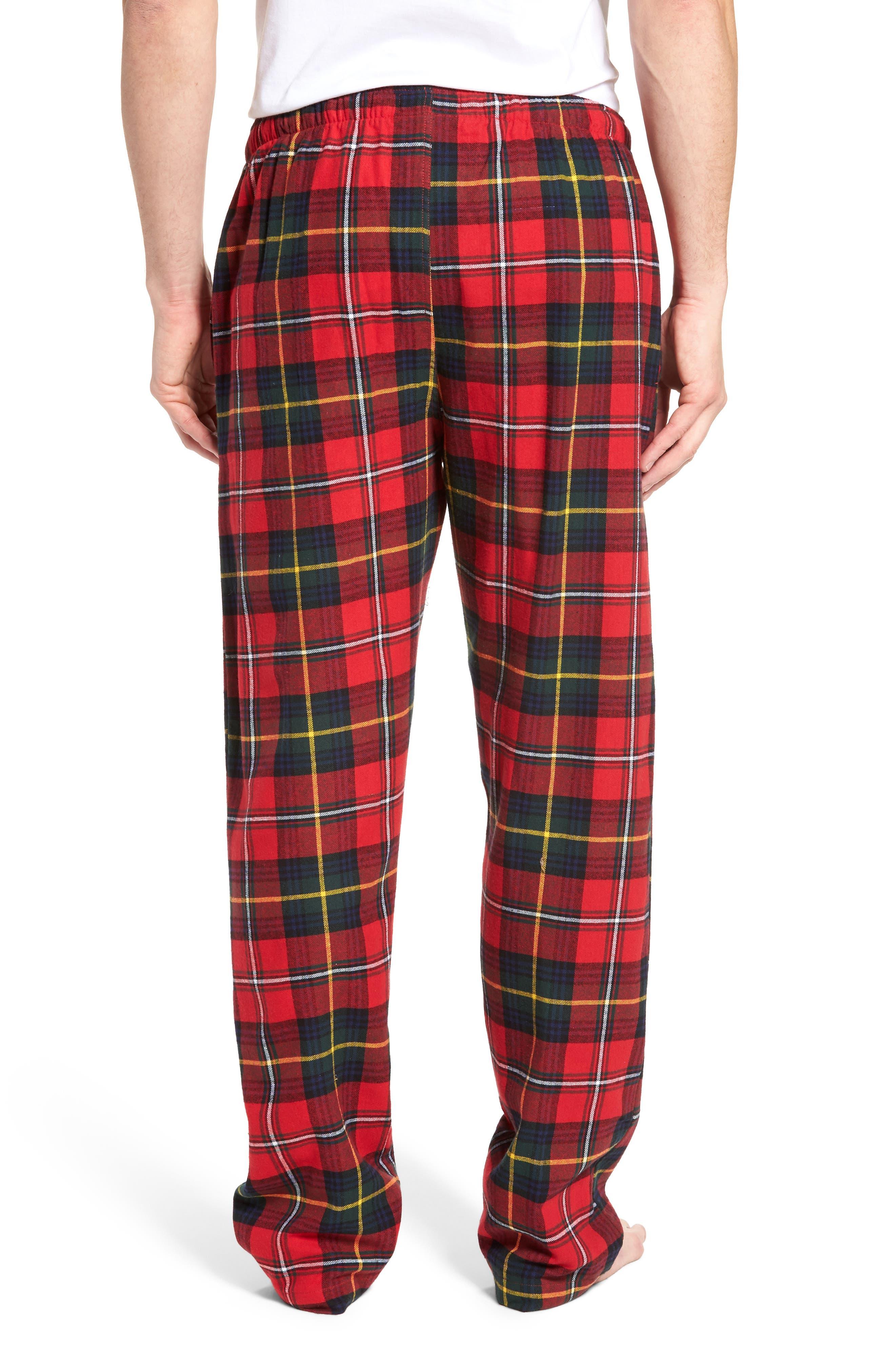 Flannel Pajama Pants,                             Alternate thumbnail 26, color,