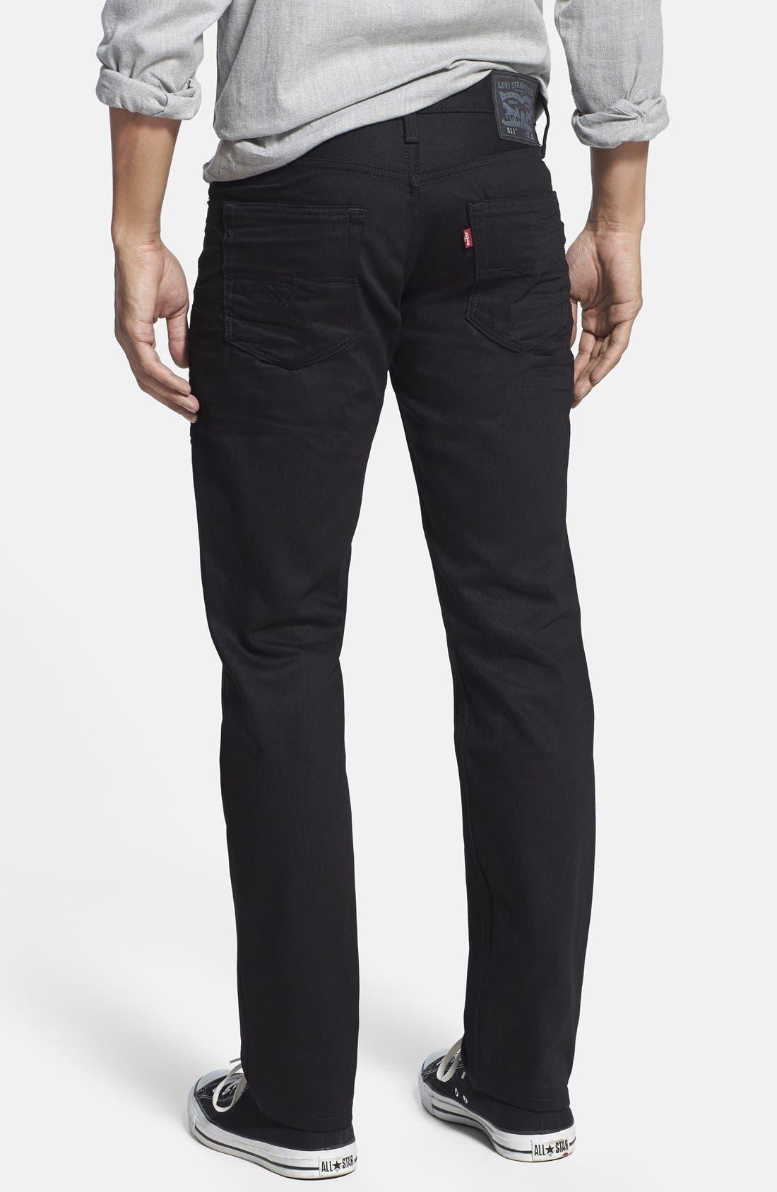 '511<sup>™</sup>' Slim Fit Jeans,                             Alternate thumbnail 3, color,                             001