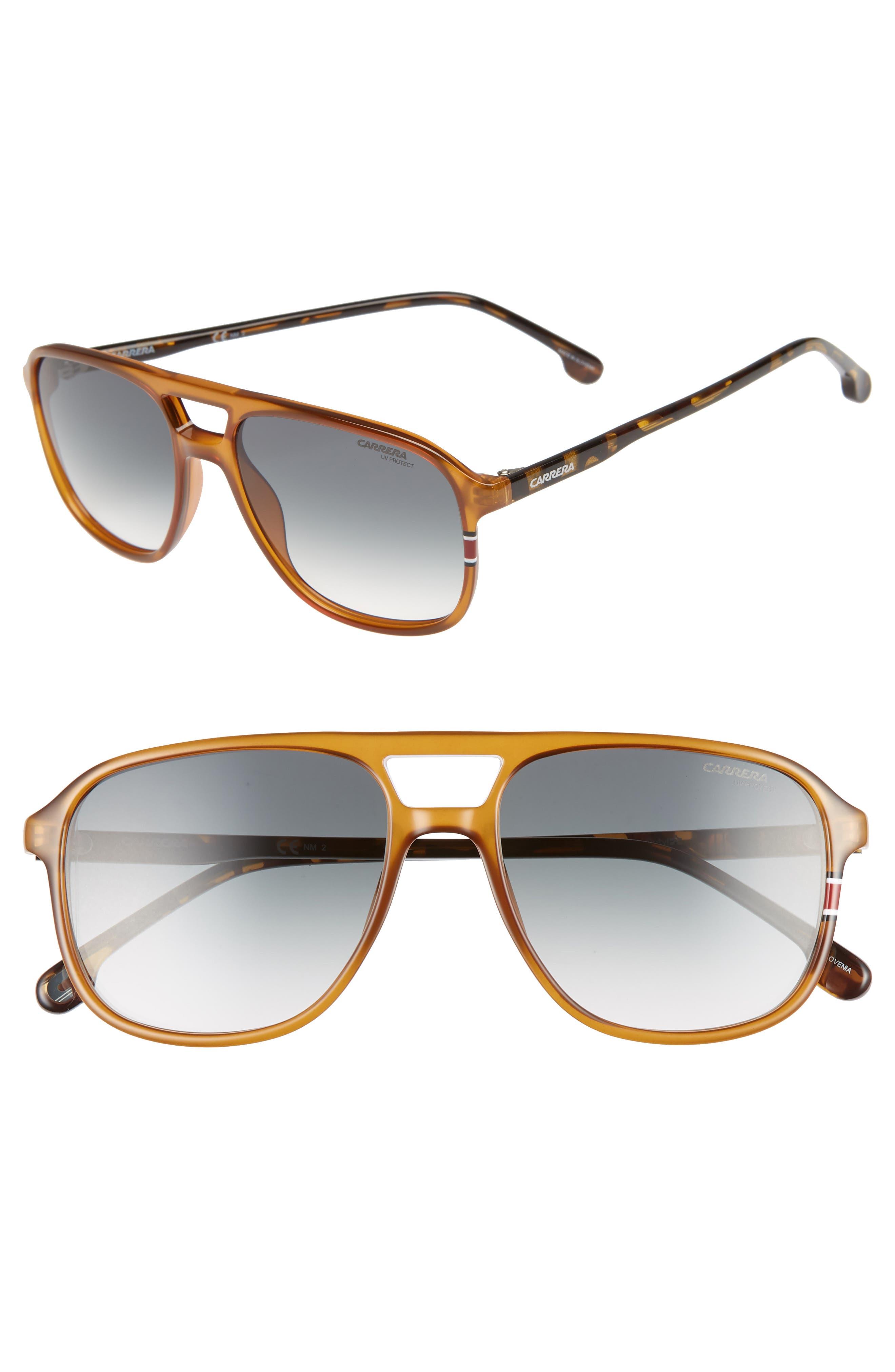 Carrera Eyewear 5m Aviator Sunglasses - Yellow