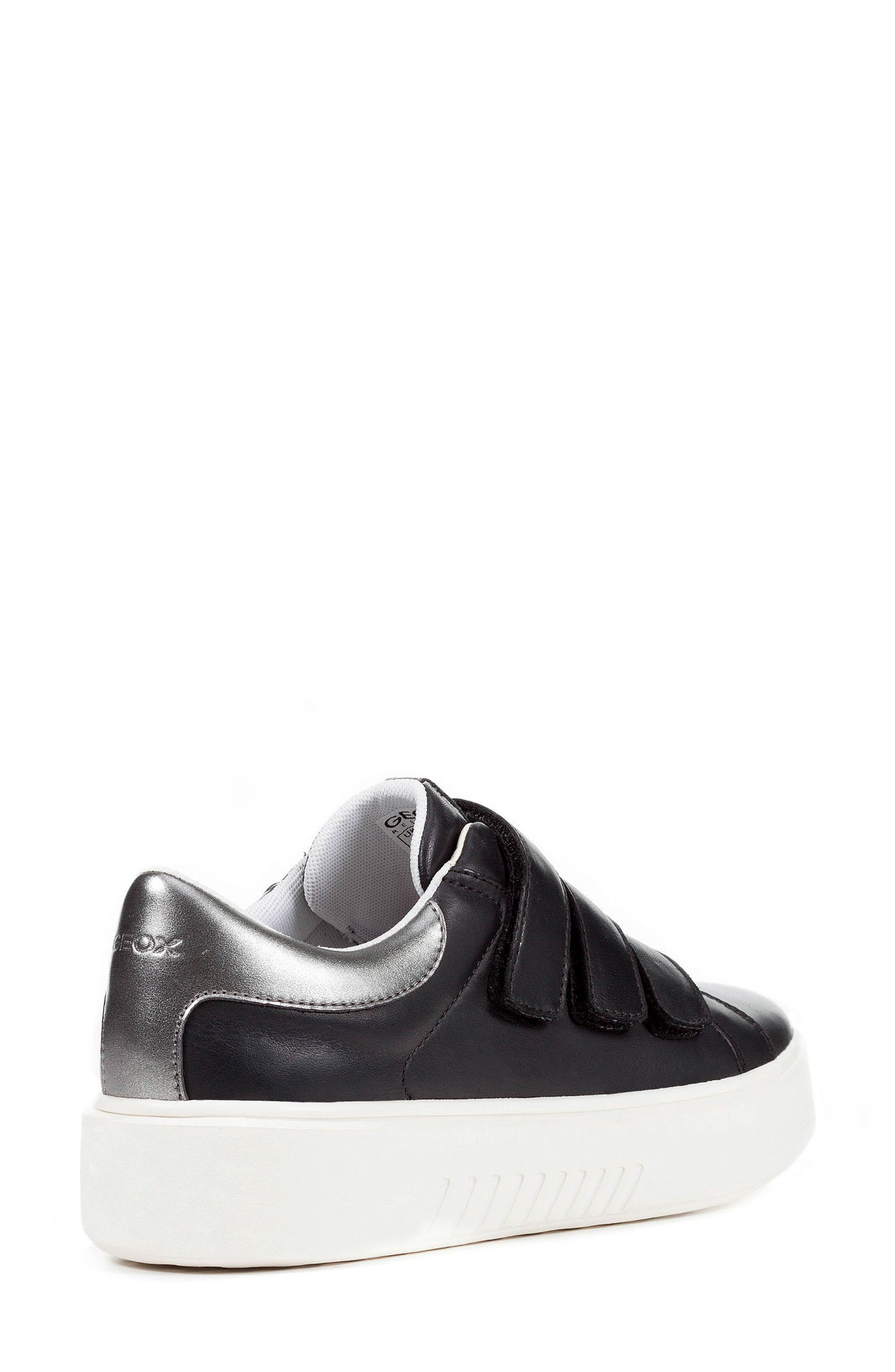 Nhenbus 3 Sneaker,                             Alternate thumbnail 2, color,                             BLACK LEATHER