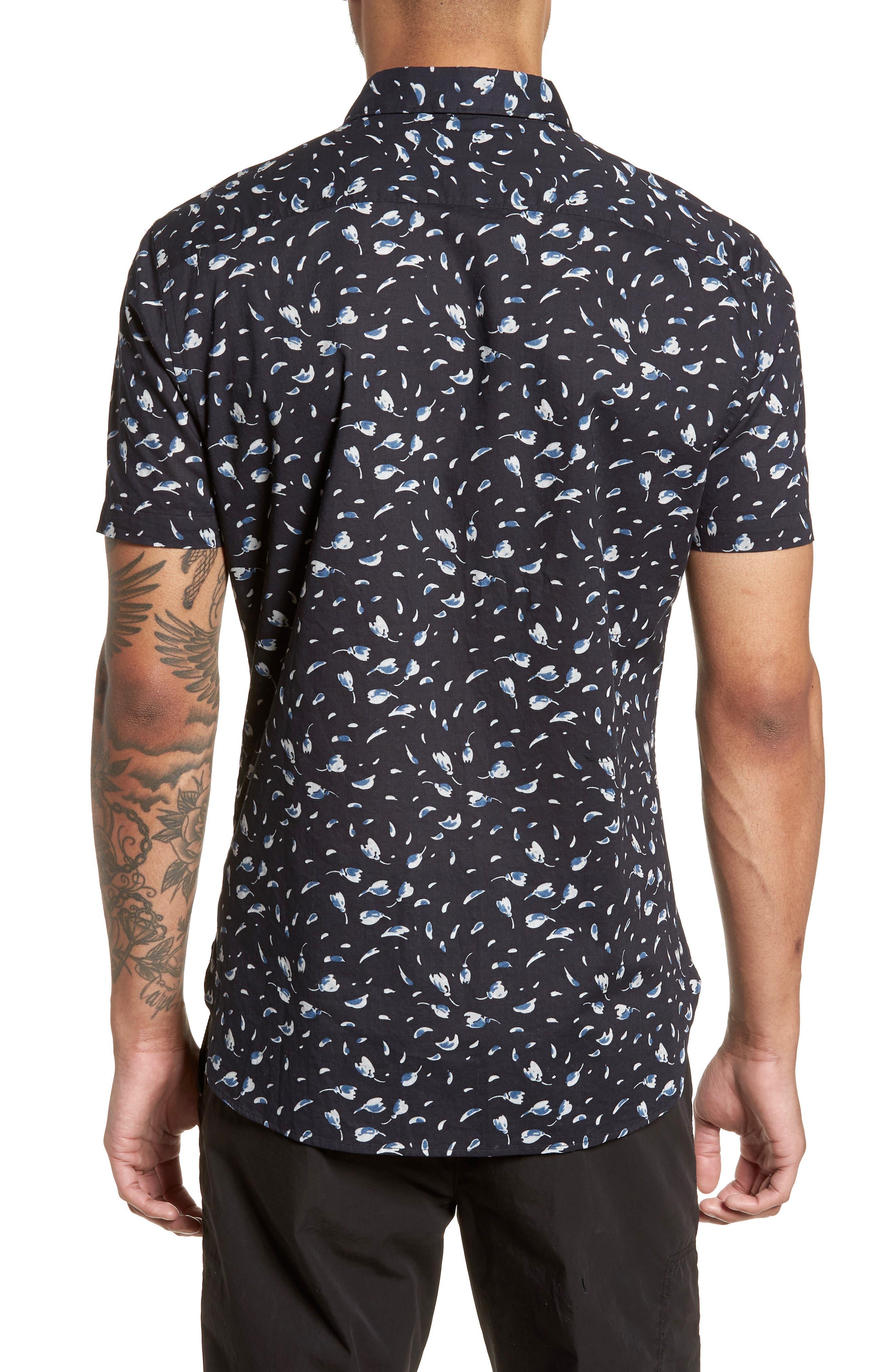 Extra Slim Fit Print Sport Shirt,                             Alternate thumbnail 2, color,                             038