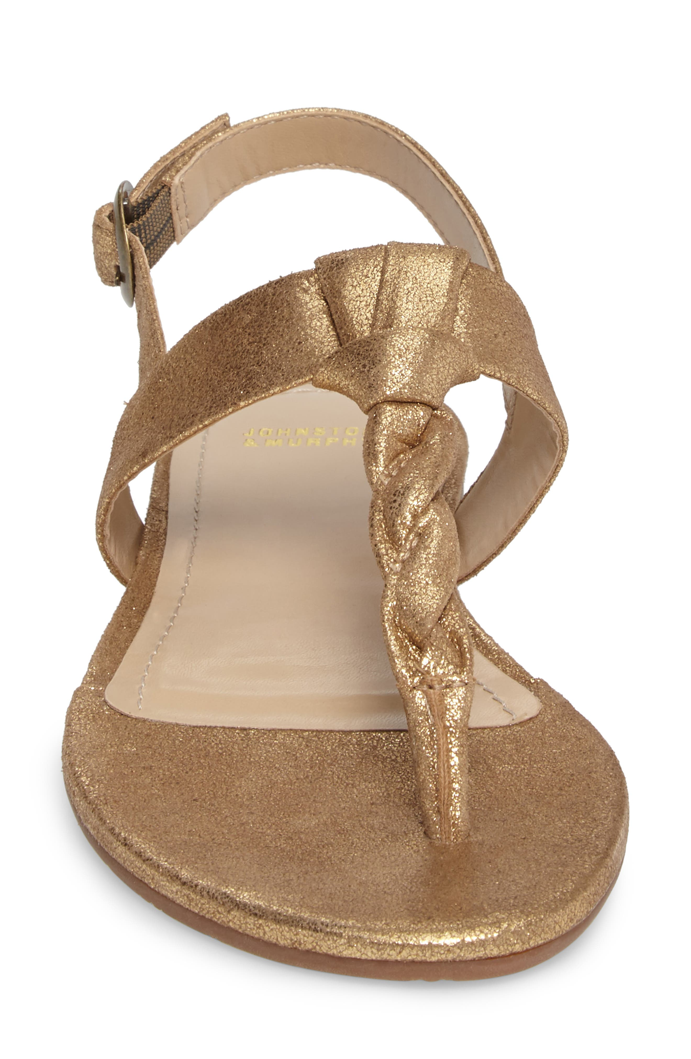 Holly Twisted T-Strap Sandal,                             Alternate thumbnail 20, color,