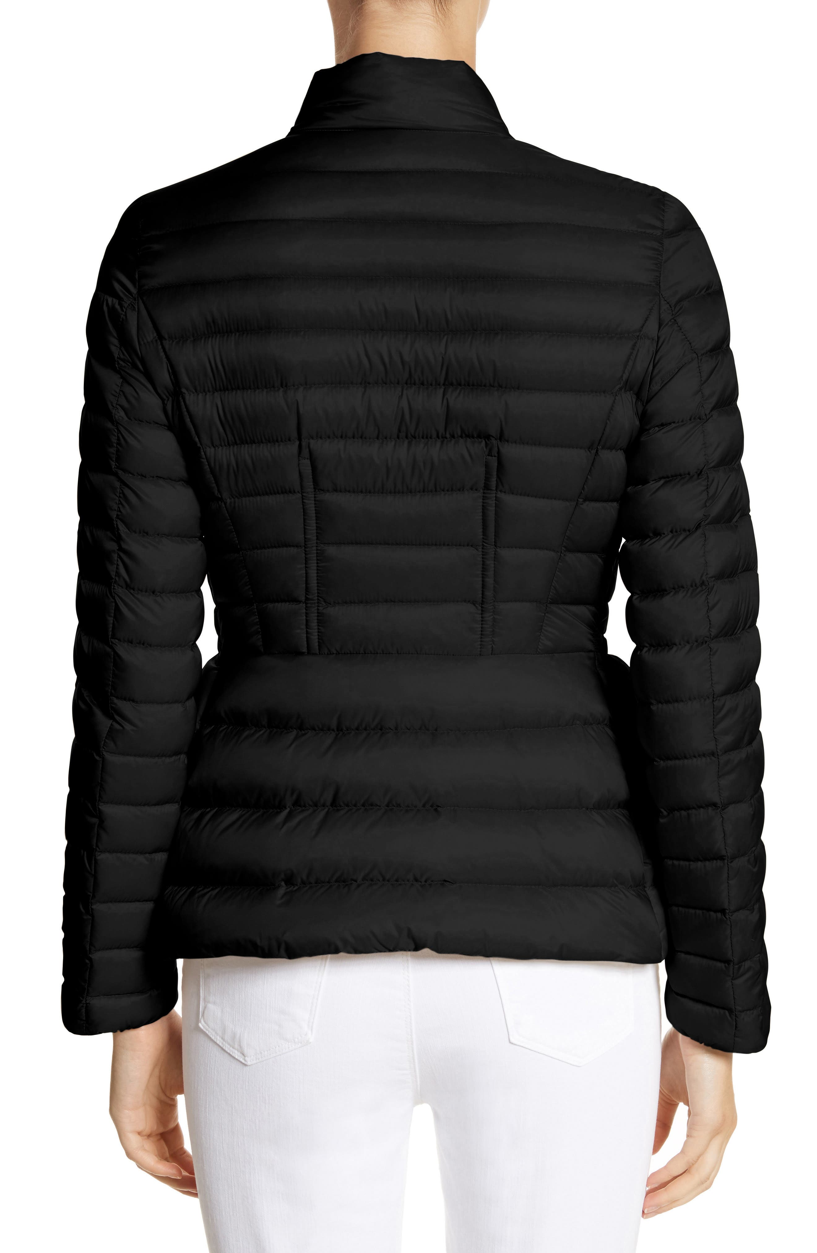 MONCLER,                             Agate Quilted Puffer Jacket,                             Alternate thumbnail 2, color,                             001