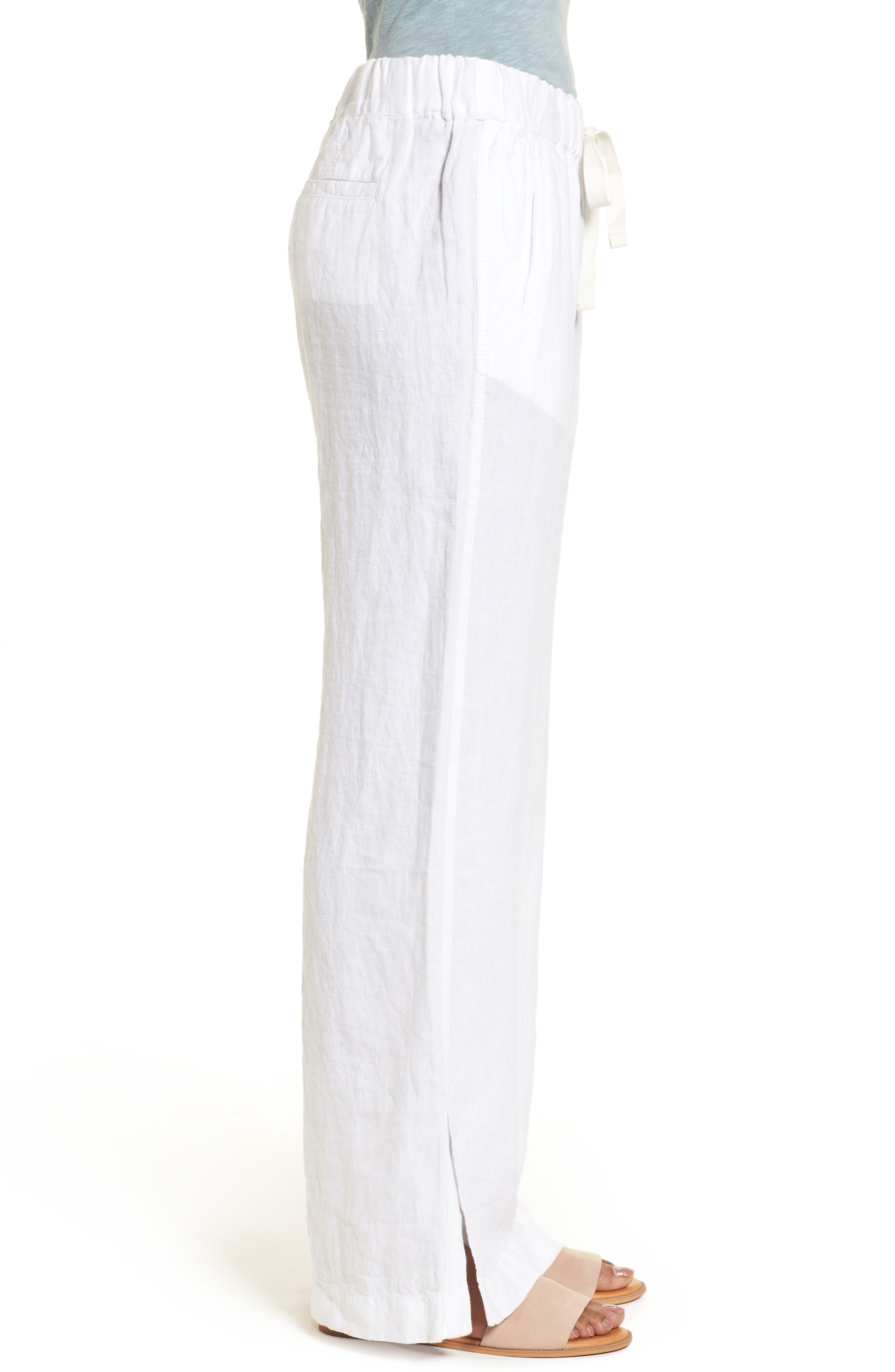 Linen Track Pants,                             Alternate thumbnail 12, color,