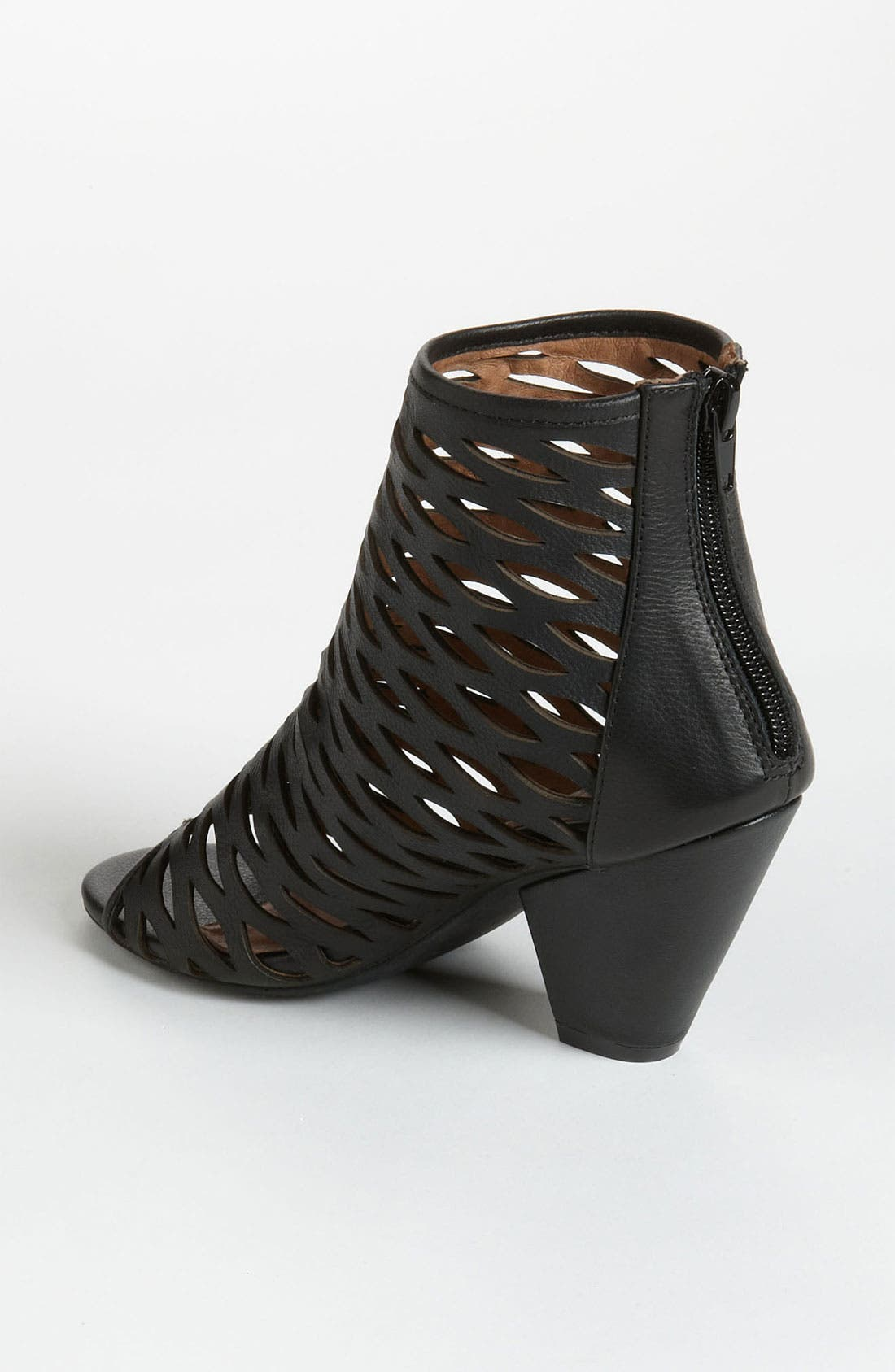 'Produce' Open Toe Bootie,                             Alternate thumbnail 4, color,                             001