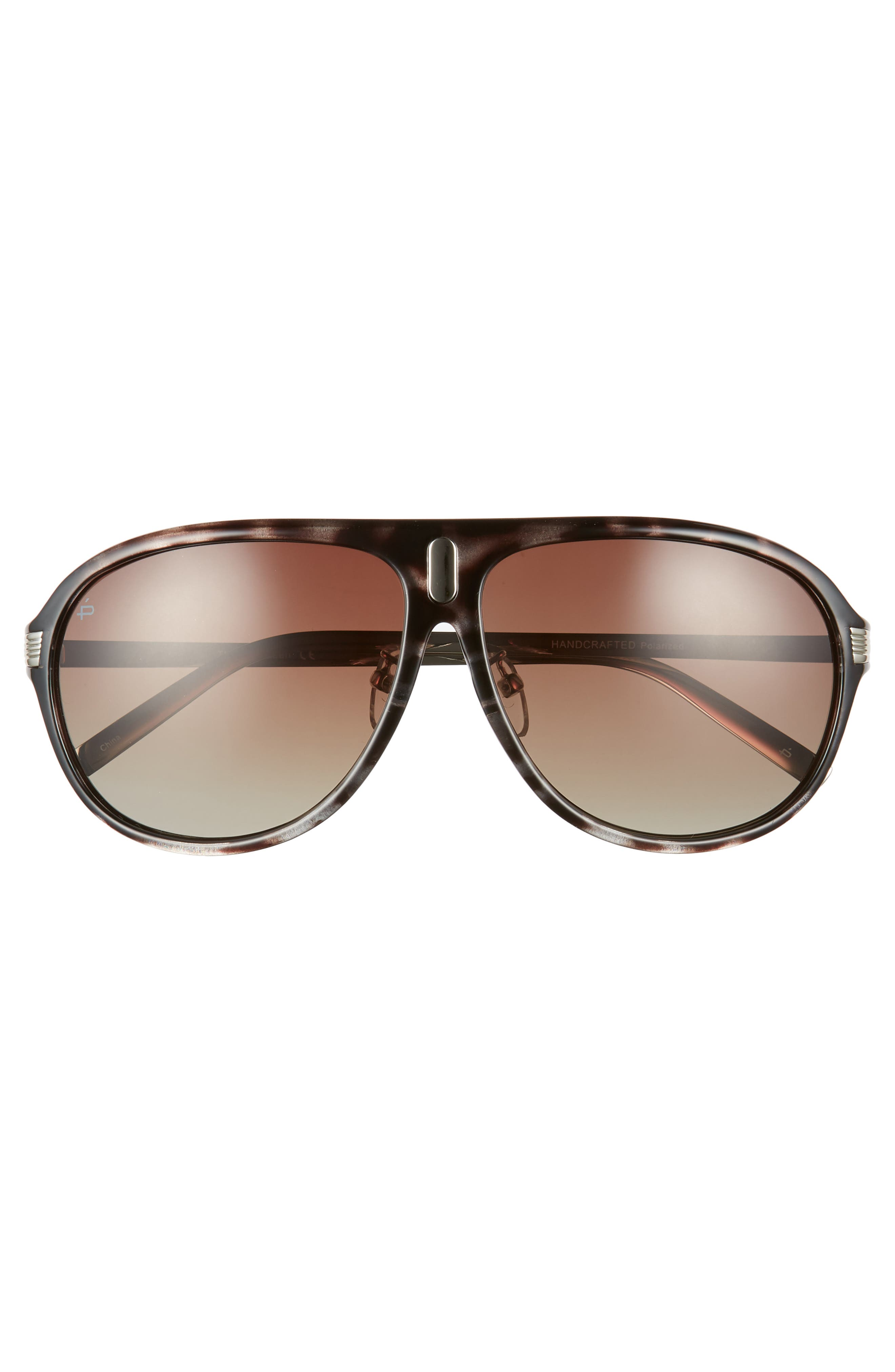 Privé Revaux The McQueen 62mm Polarized Aviator Sunglasses,                             Alternate thumbnail 2, color,                             GREY