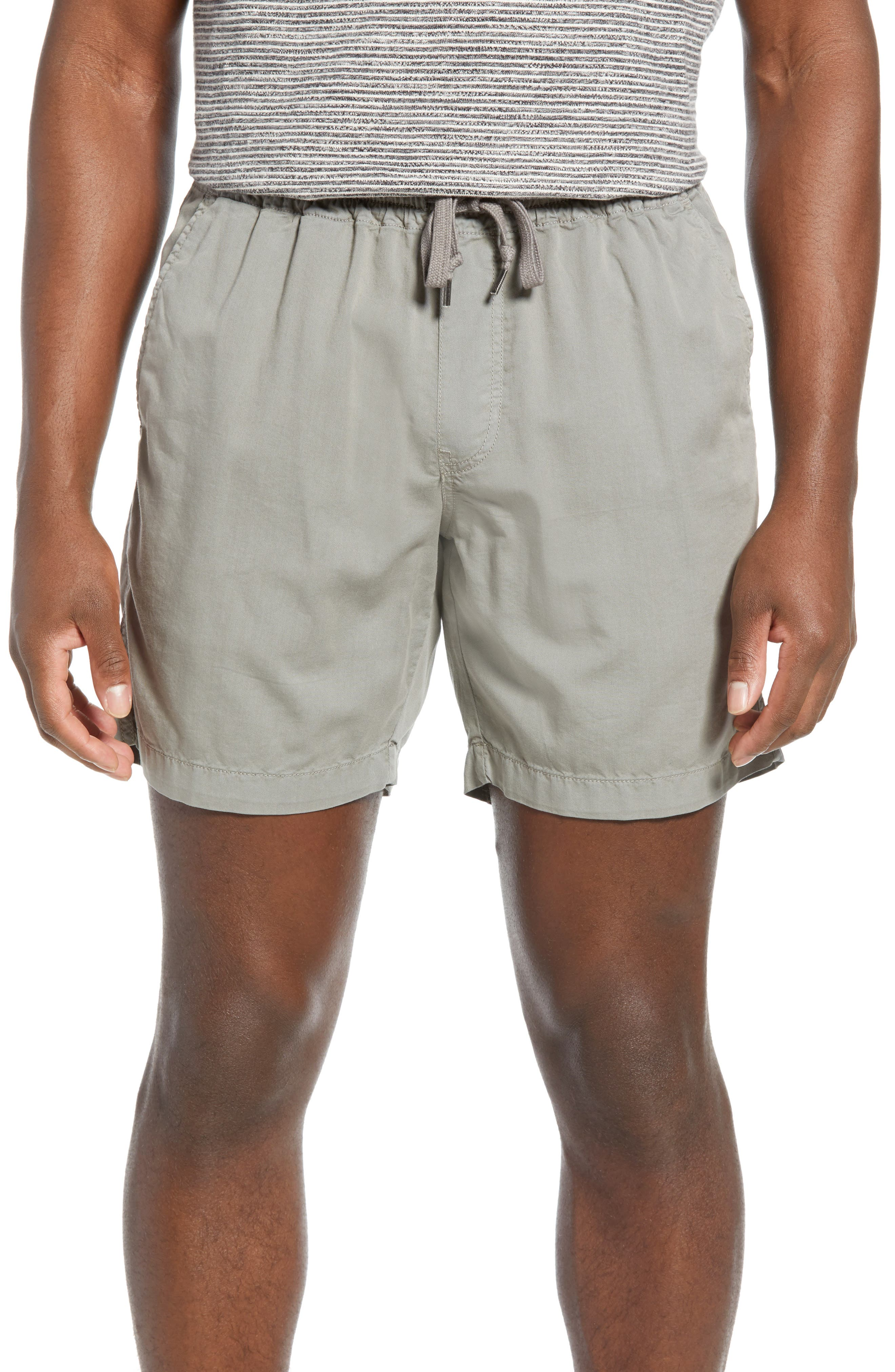 Fahery Marty Regular Fit Shorts, Grey