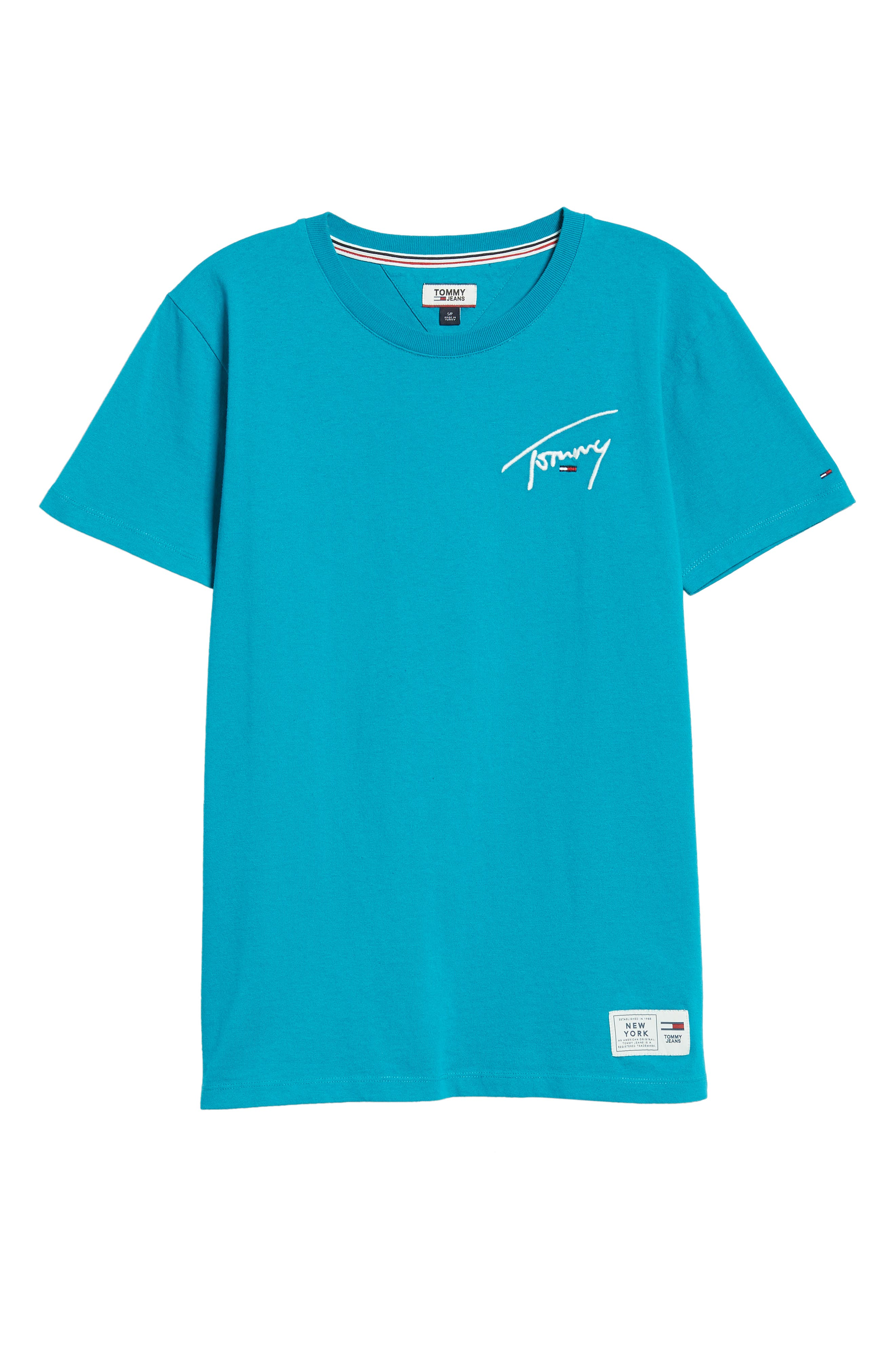 TJW Embroidered Logo Tee,                             Alternate thumbnail 6, color,                             428