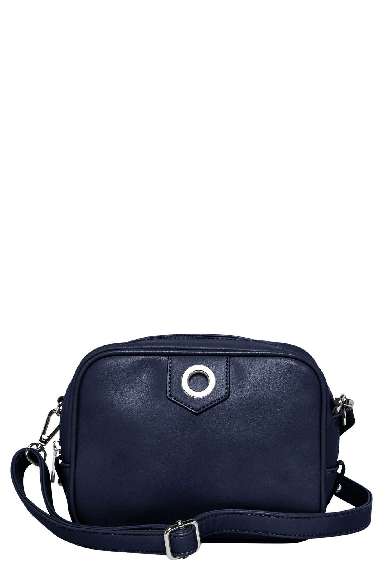 Dakota Vegan Leather Crossbody Bag,                             Main thumbnail 2, color,