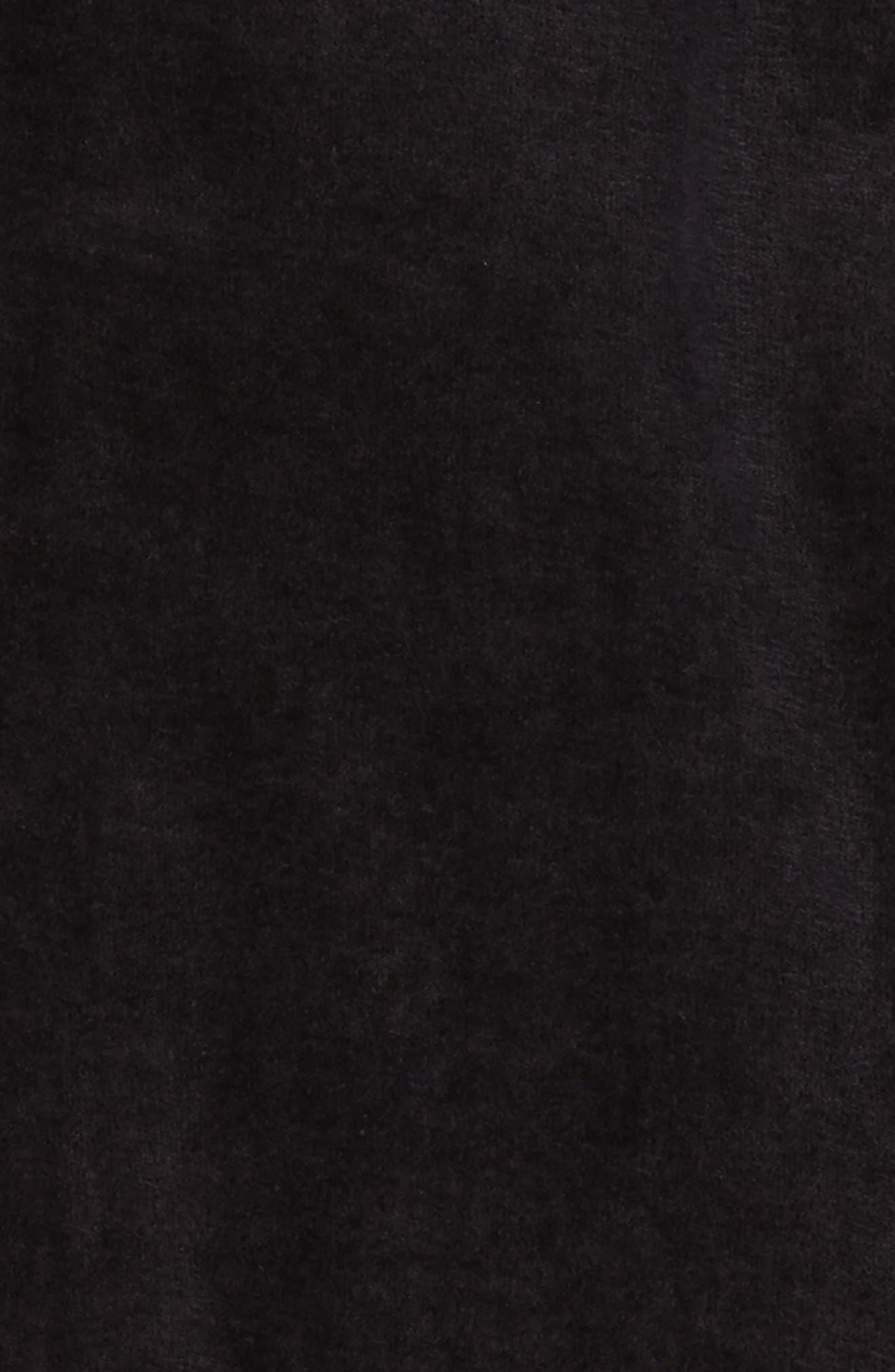 Moto Organic Cotton Romper,                             Alternate thumbnail 2, color,                             BLACK