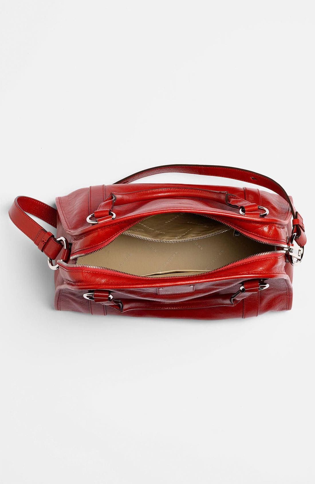 'Classic Wellington' Leather Satchel,                             Alternate thumbnail 31, color,