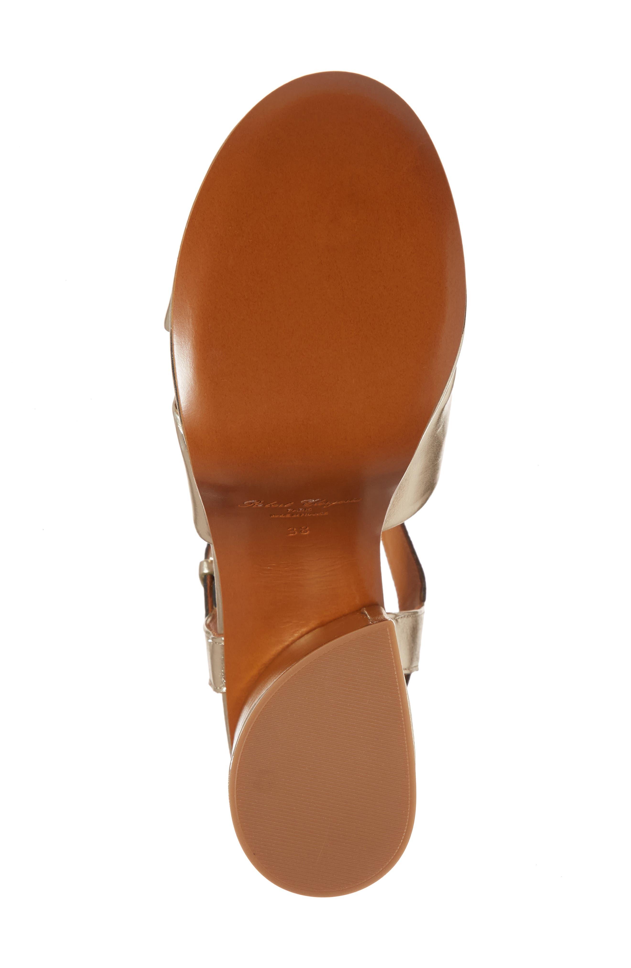Vianne Ankle Strap Platform Sandal,                             Alternate thumbnail 6, color,                             712