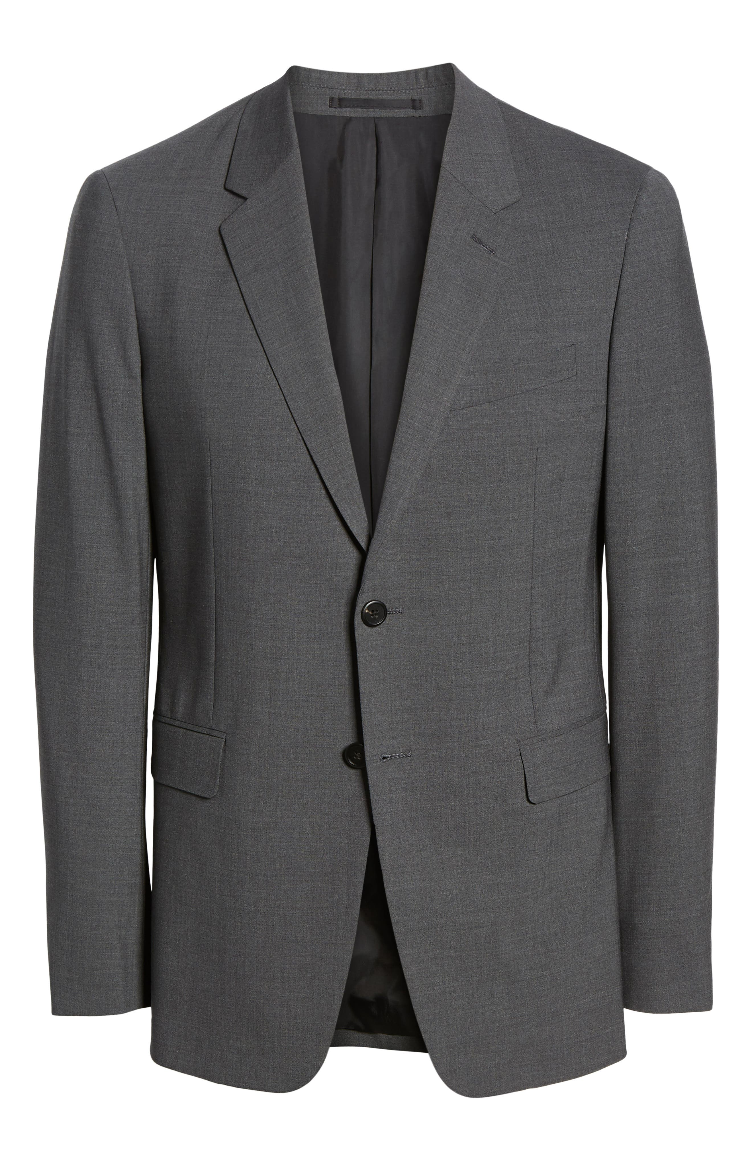 New Tailor Chambers Blazer,                             Alternate thumbnail 5, color,                             MEDIUM CHARCOAL