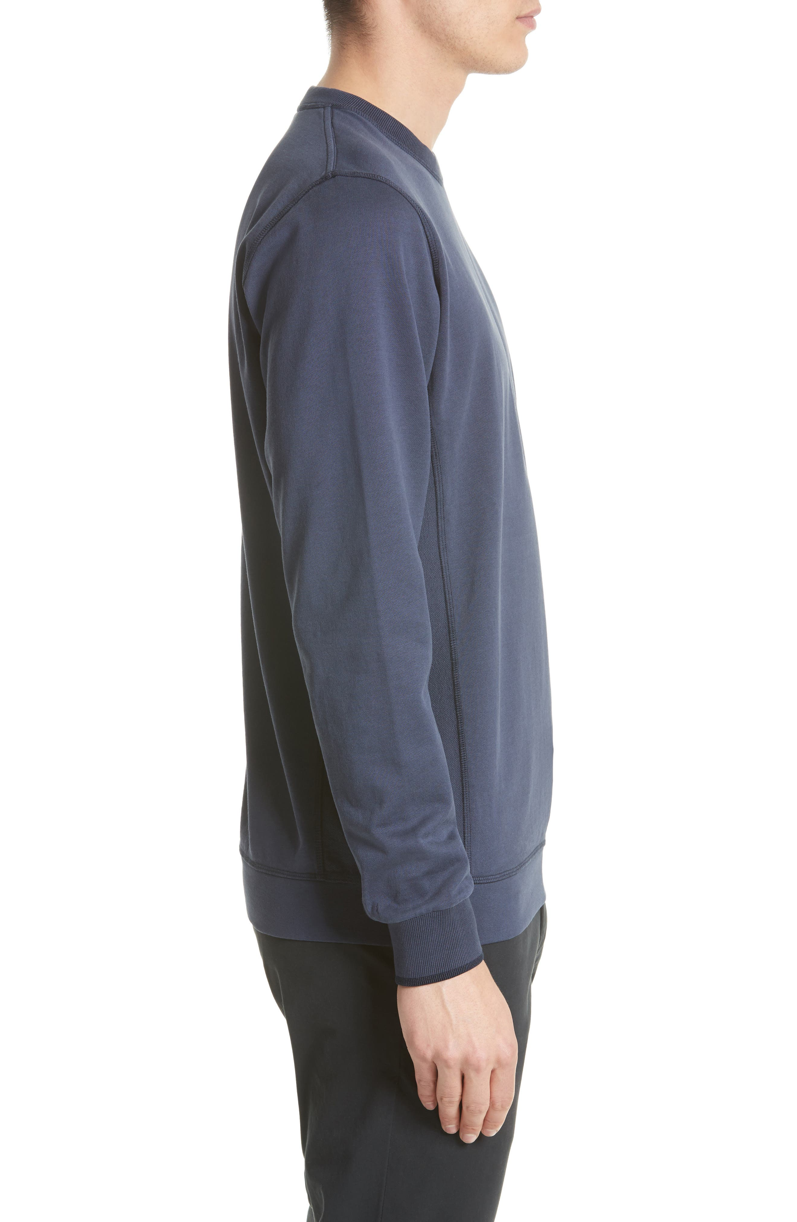 Vagn Mercerized Fleece Sweatshirt,                             Alternate thumbnail 3, color,                             401