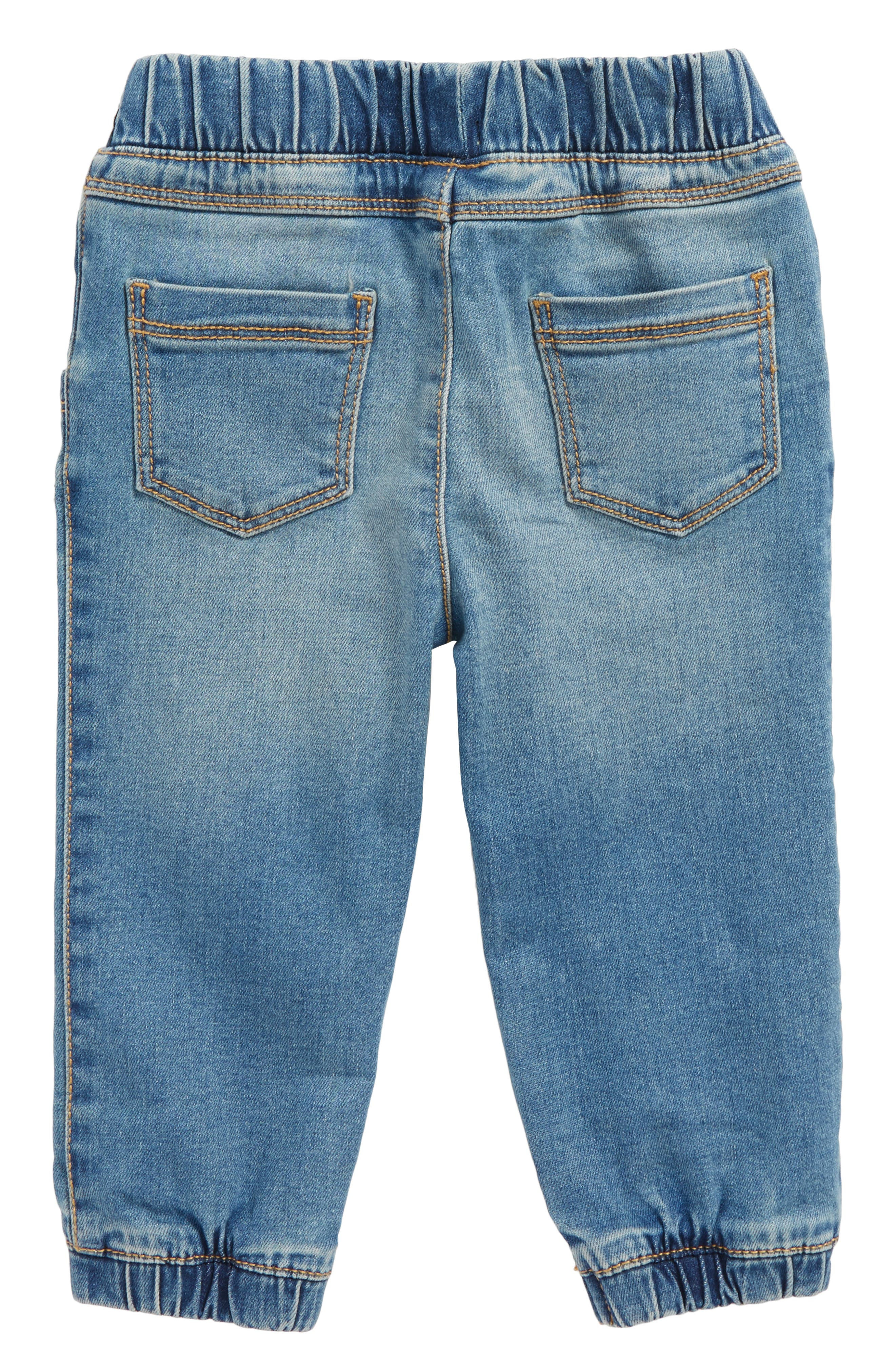 Stretch Denim Jogger Pants,                             Alternate thumbnail 2, color,                             401