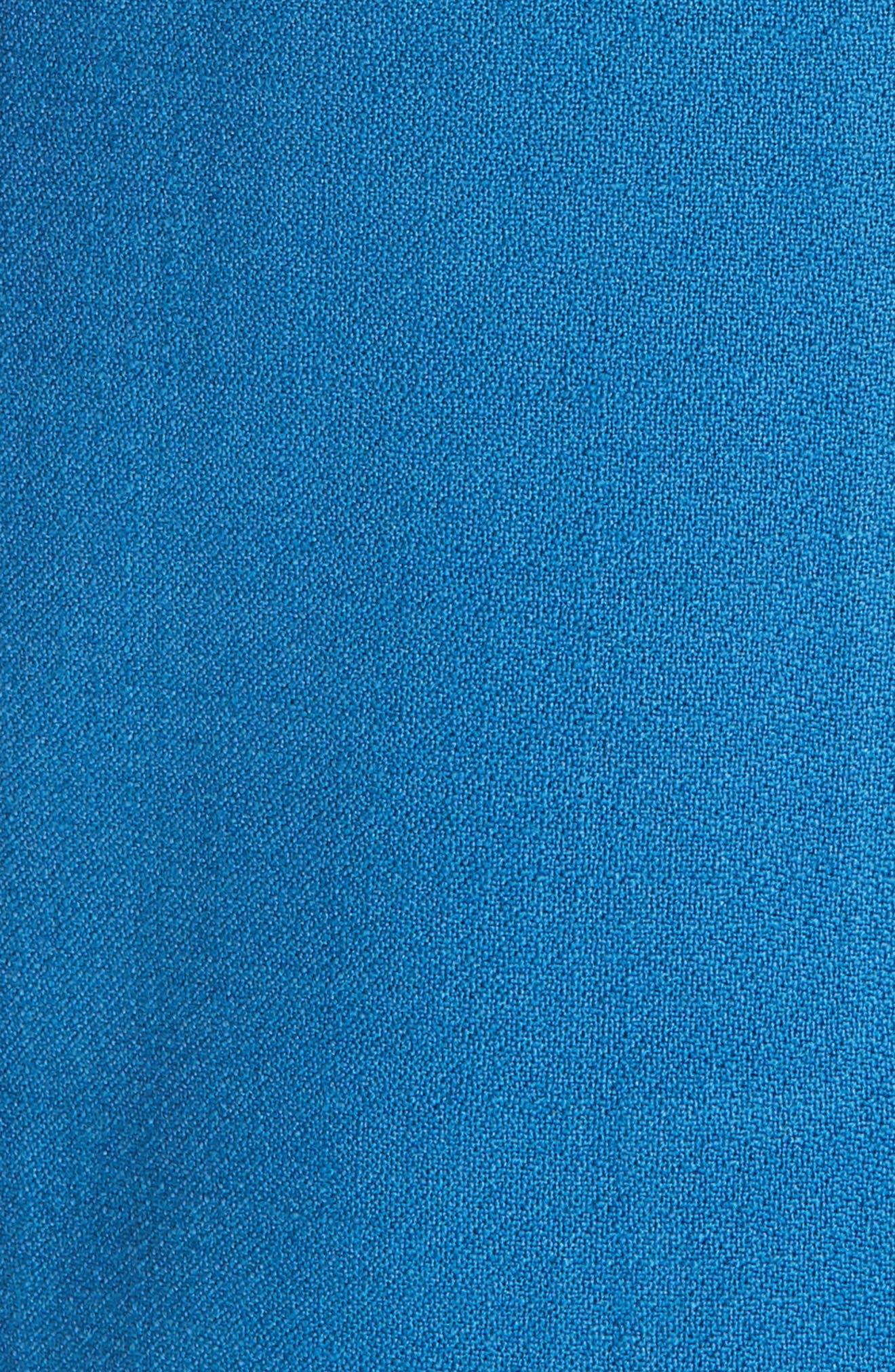 Peaked Lapel Wool Blend Coat,                             Alternate thumbnail 6, color,                             470