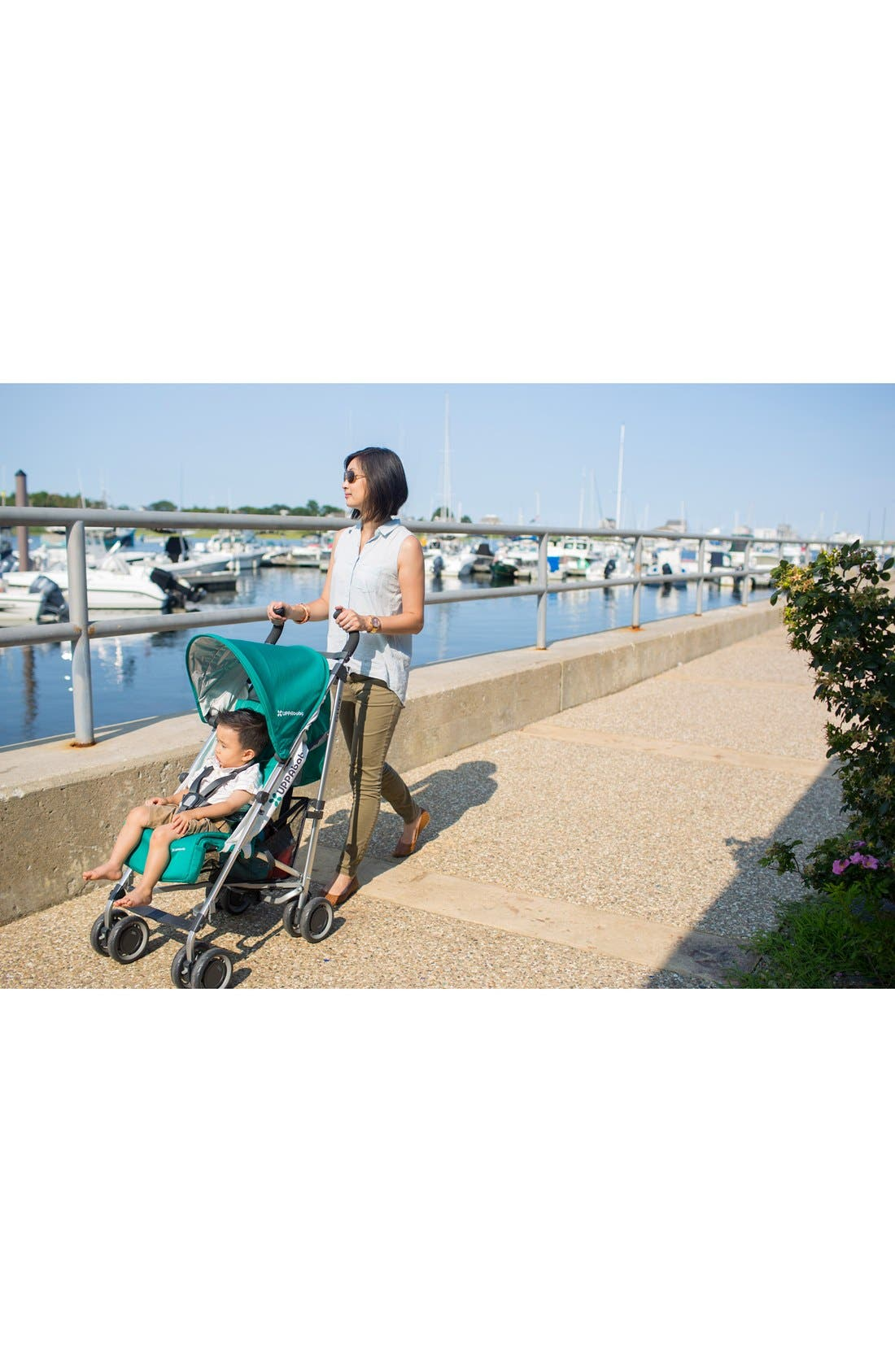 2015 G-LUXE - Aluminum Frame Reclining Umbrella Stroller,                             Alternate thumbnail 4, color,                             001