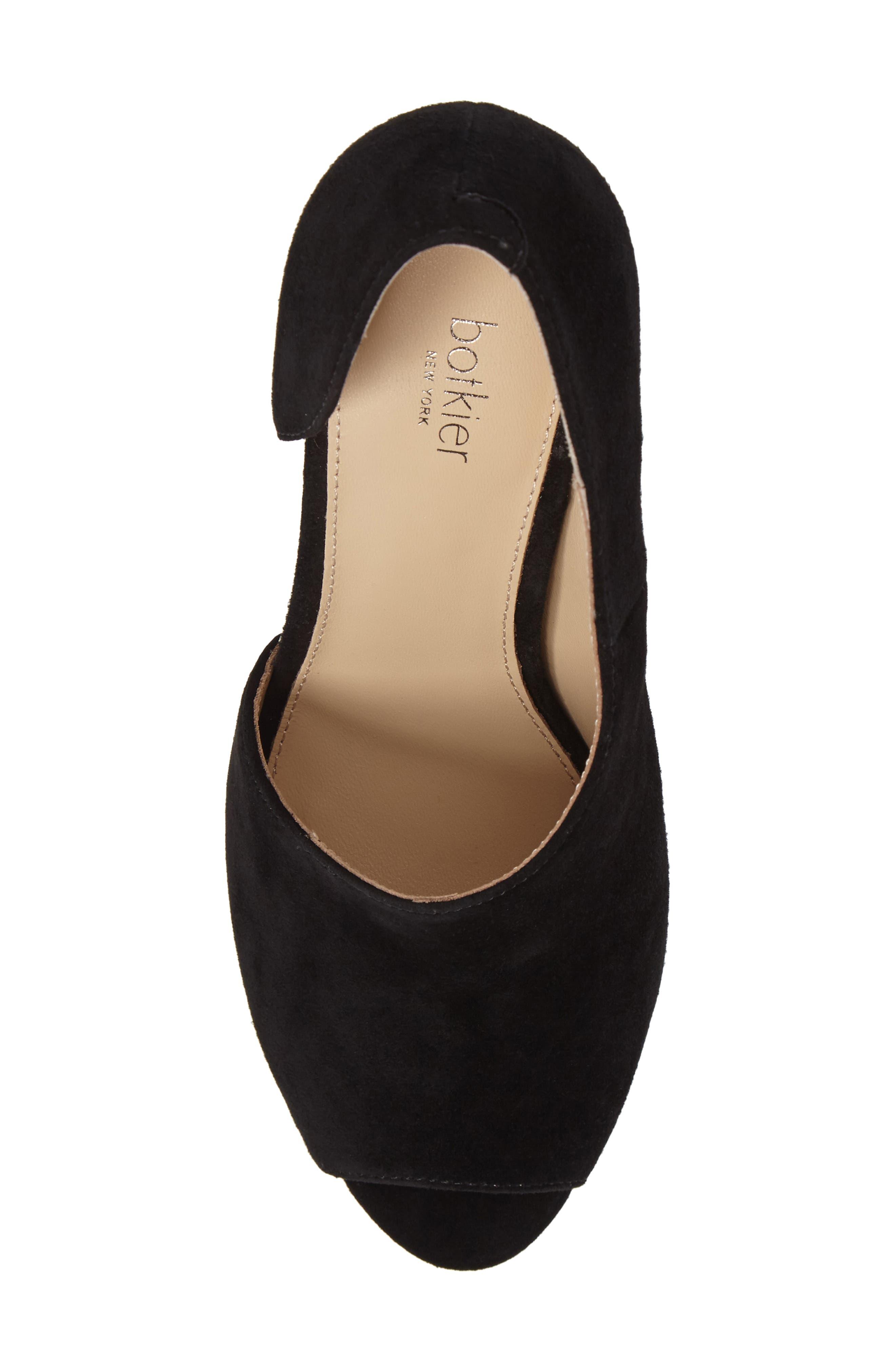 Adelia Asymmetrical Sandal,                             Alternate thumbnail 5, color,                             BLACK