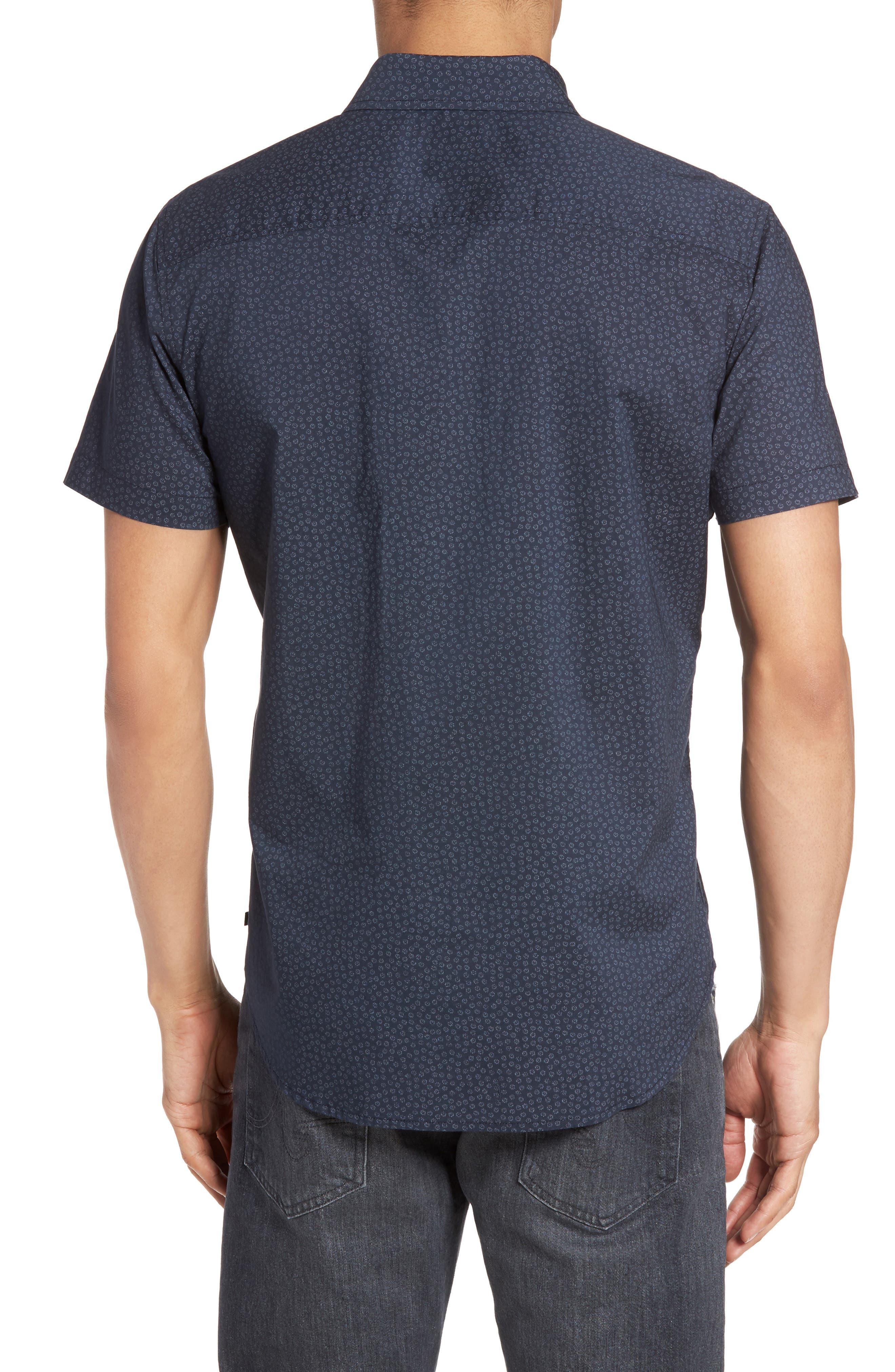 Nash Cotton Sport Shirt,                             Alternate thumbnail 2, color,                             401