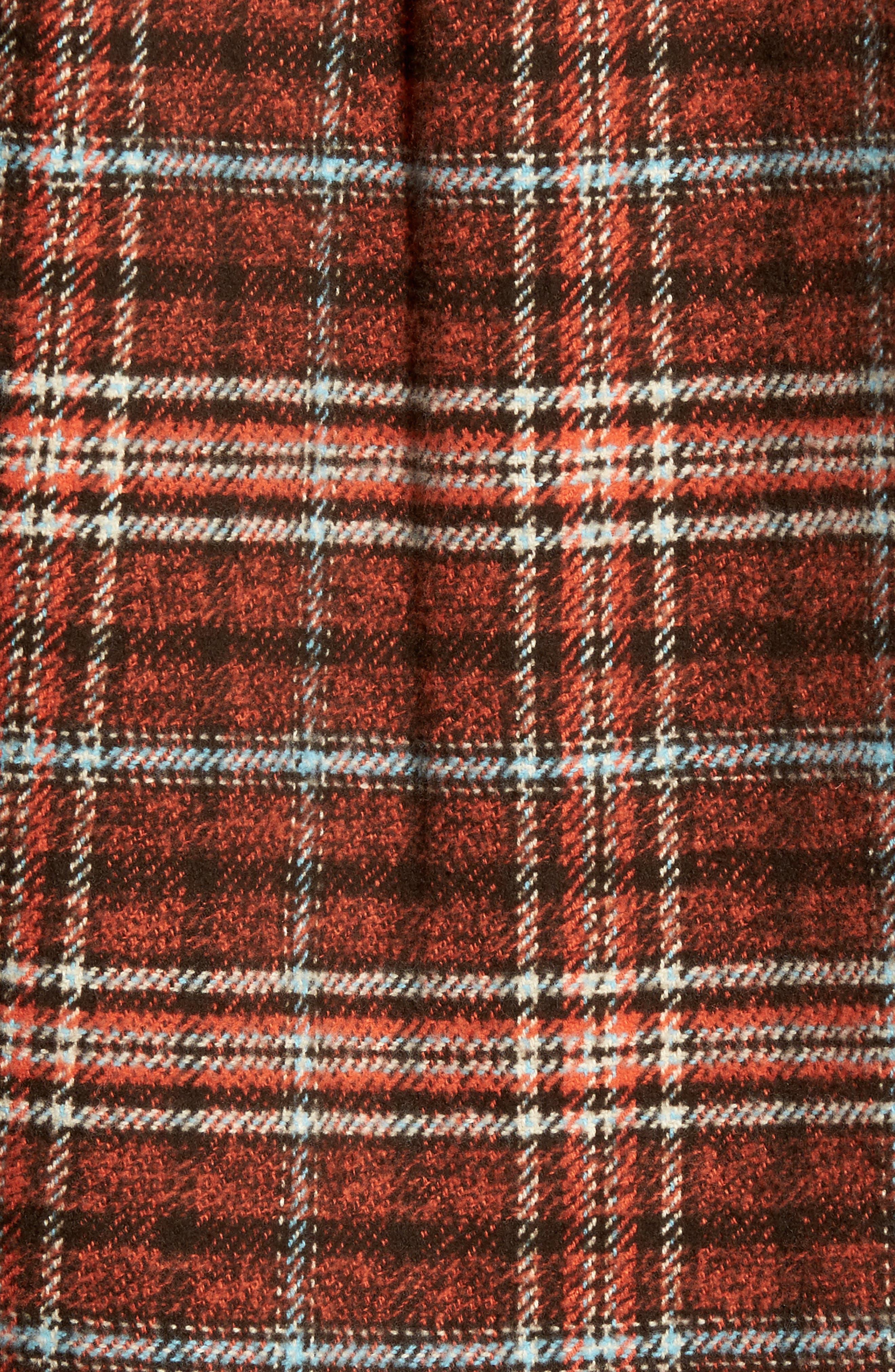 Brayden Regular Fit Plaid Flannel Shirt,                             Alternate thumbnail 10, color,