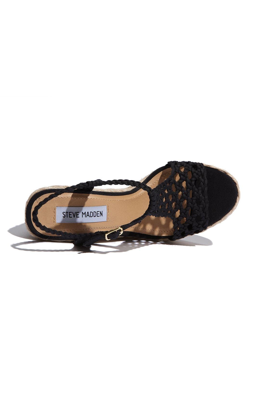 'Manngo' Woven Sandal,                             Alternate thumbnail 5, color,