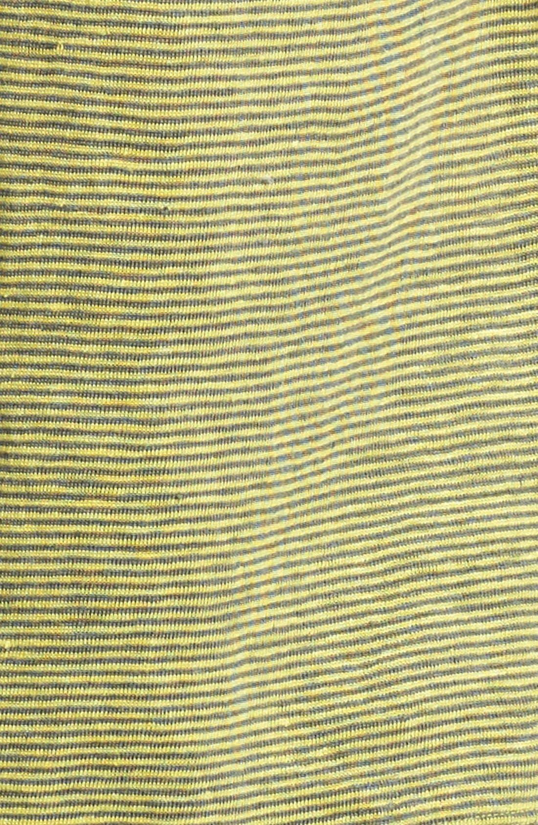 U-Neck Stripe Tee,                             Alternate thumbnail 5, color,