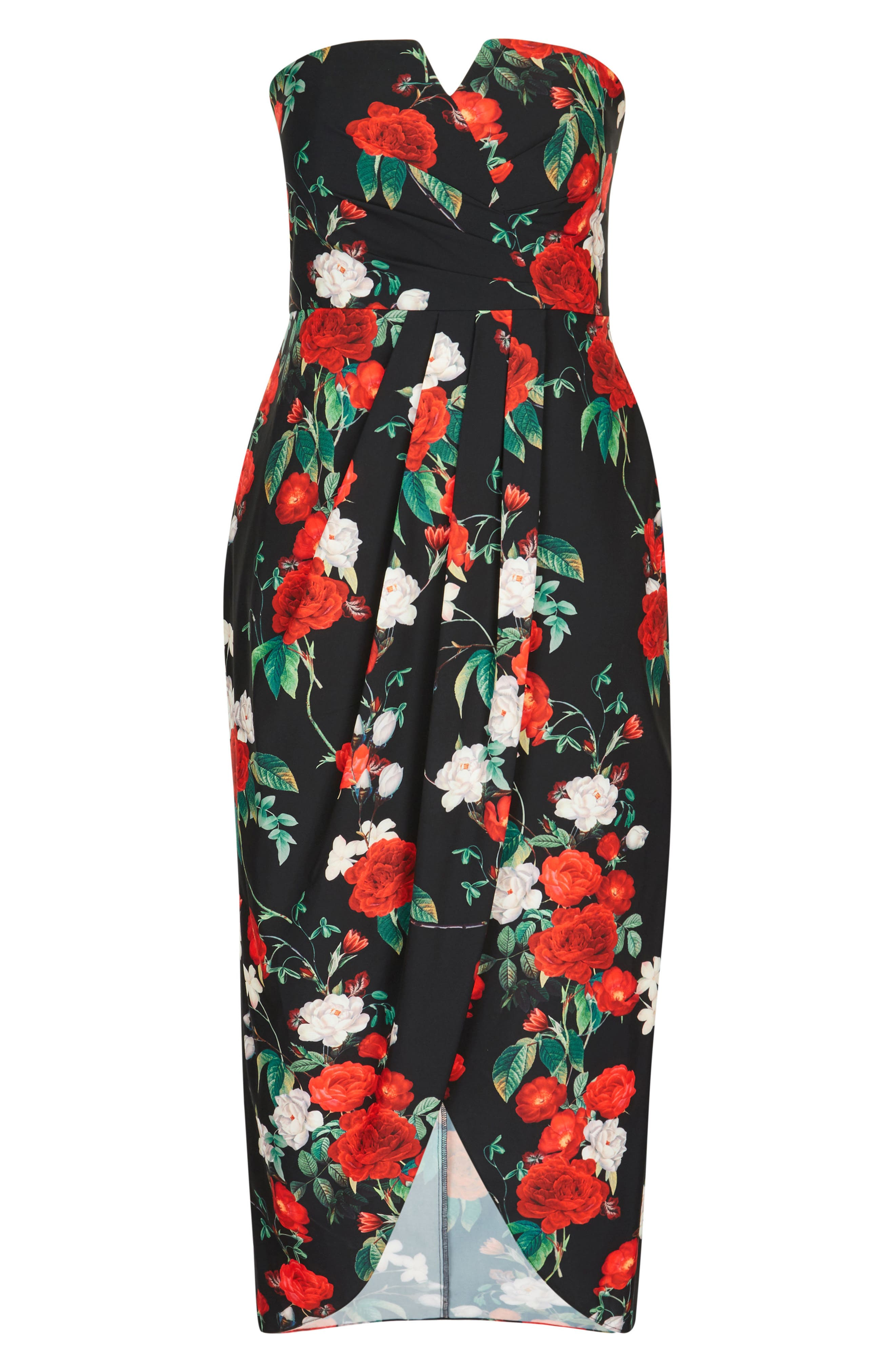 Come Hither Maxi Dress,                             Alternate thumbnail 4, color,                             001