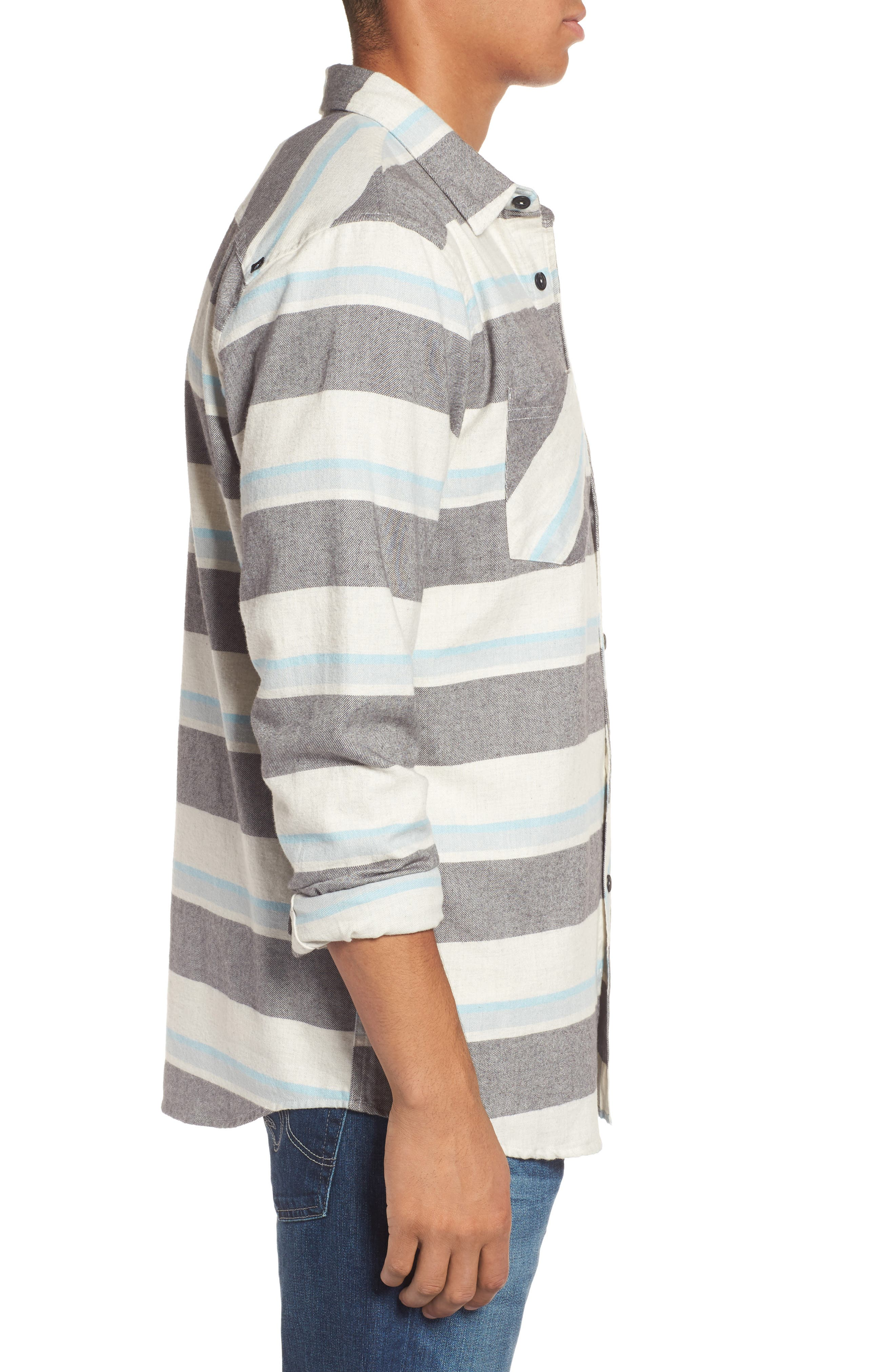 Seager Flannel Shirt,                             Alternate thumbnail 5, color,
