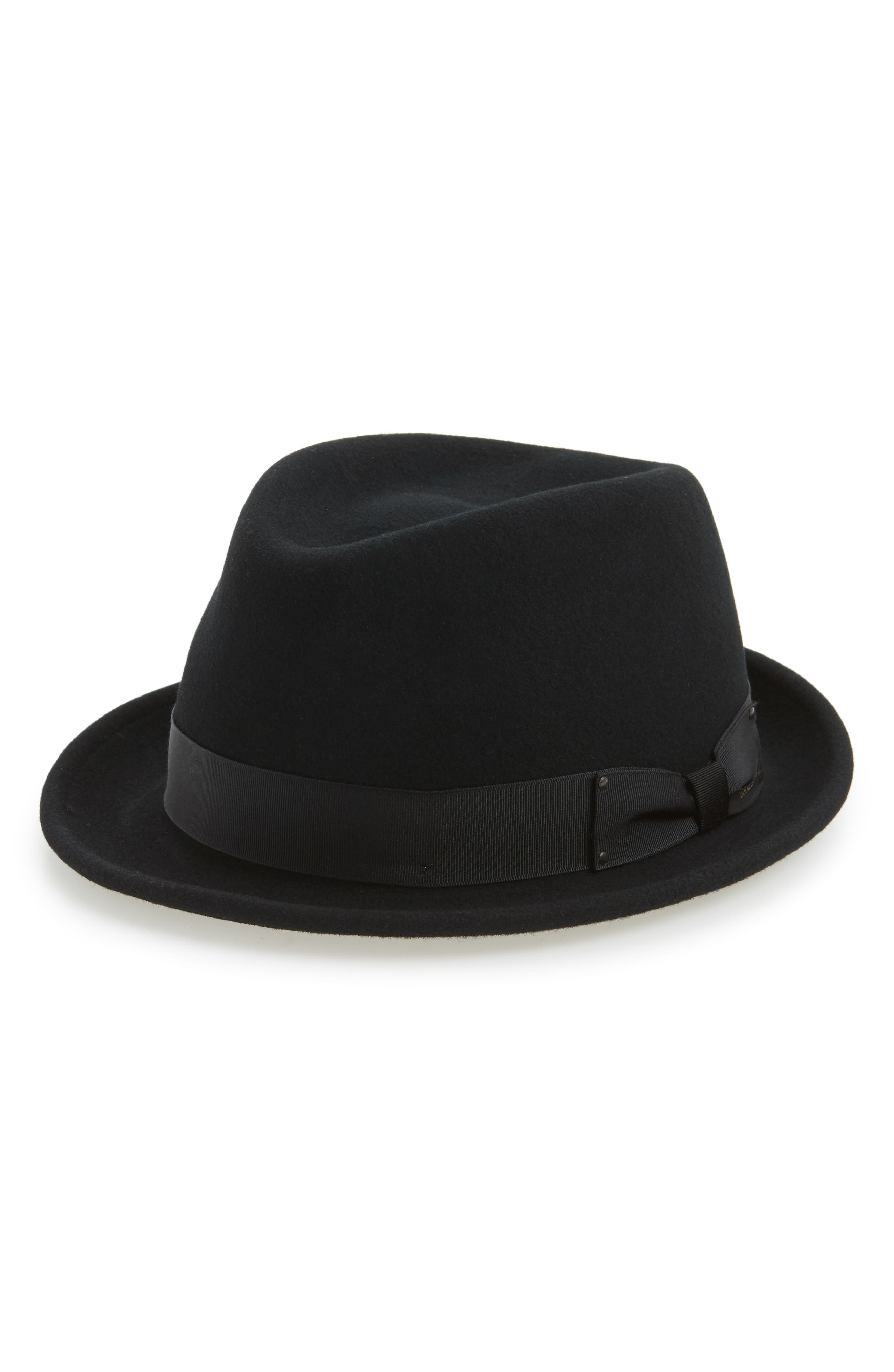 'Wynn' Packable Fedora,                             Alternate thumbnail 4, color,