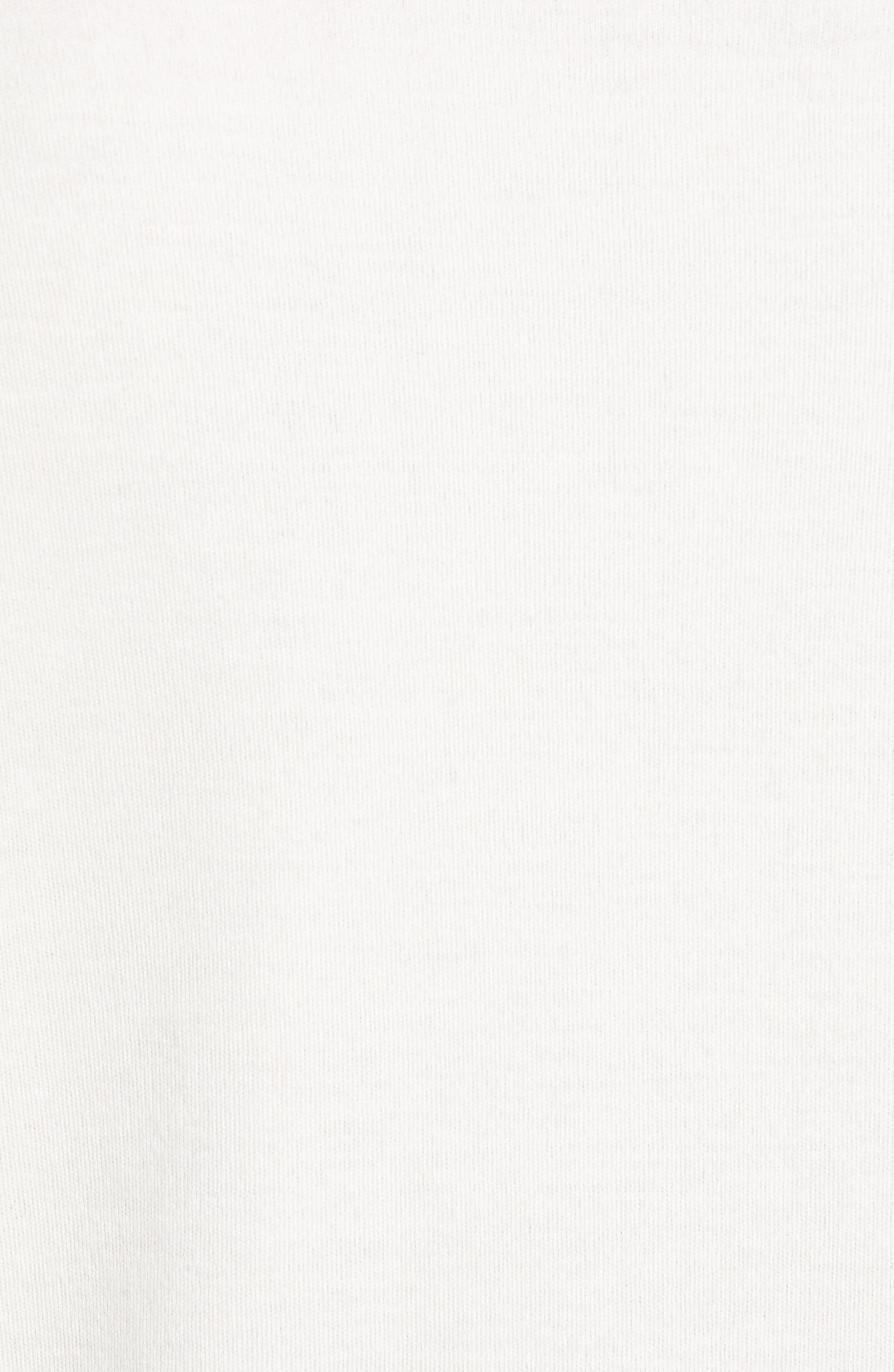 Crewneck Cashmere Sweater,                             Alternate thumbnail 5, color,                             IVORY EGRET