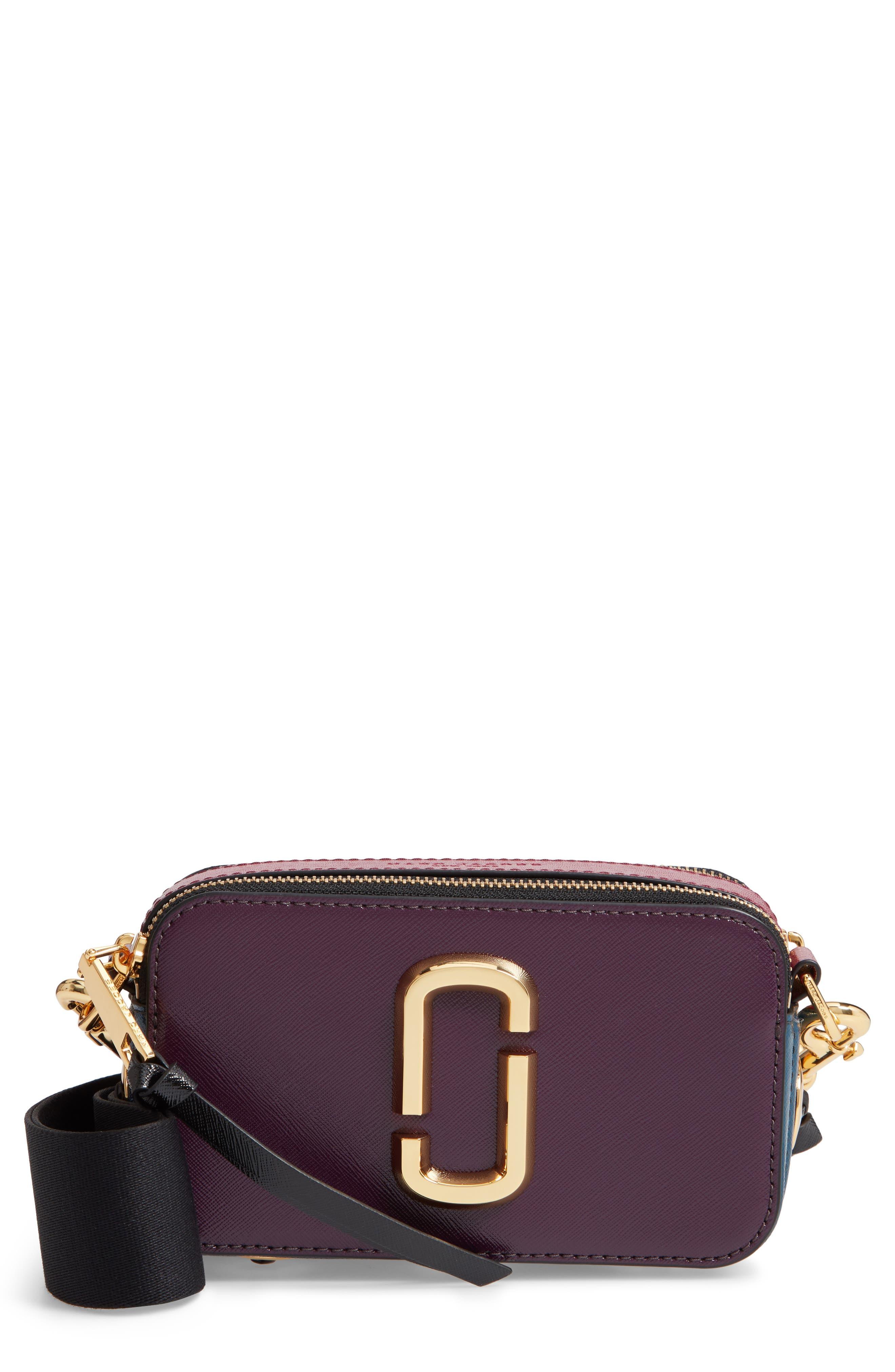 Snapshot Crossbody Bag,                         Main,                         color, GRAPE MULTI
