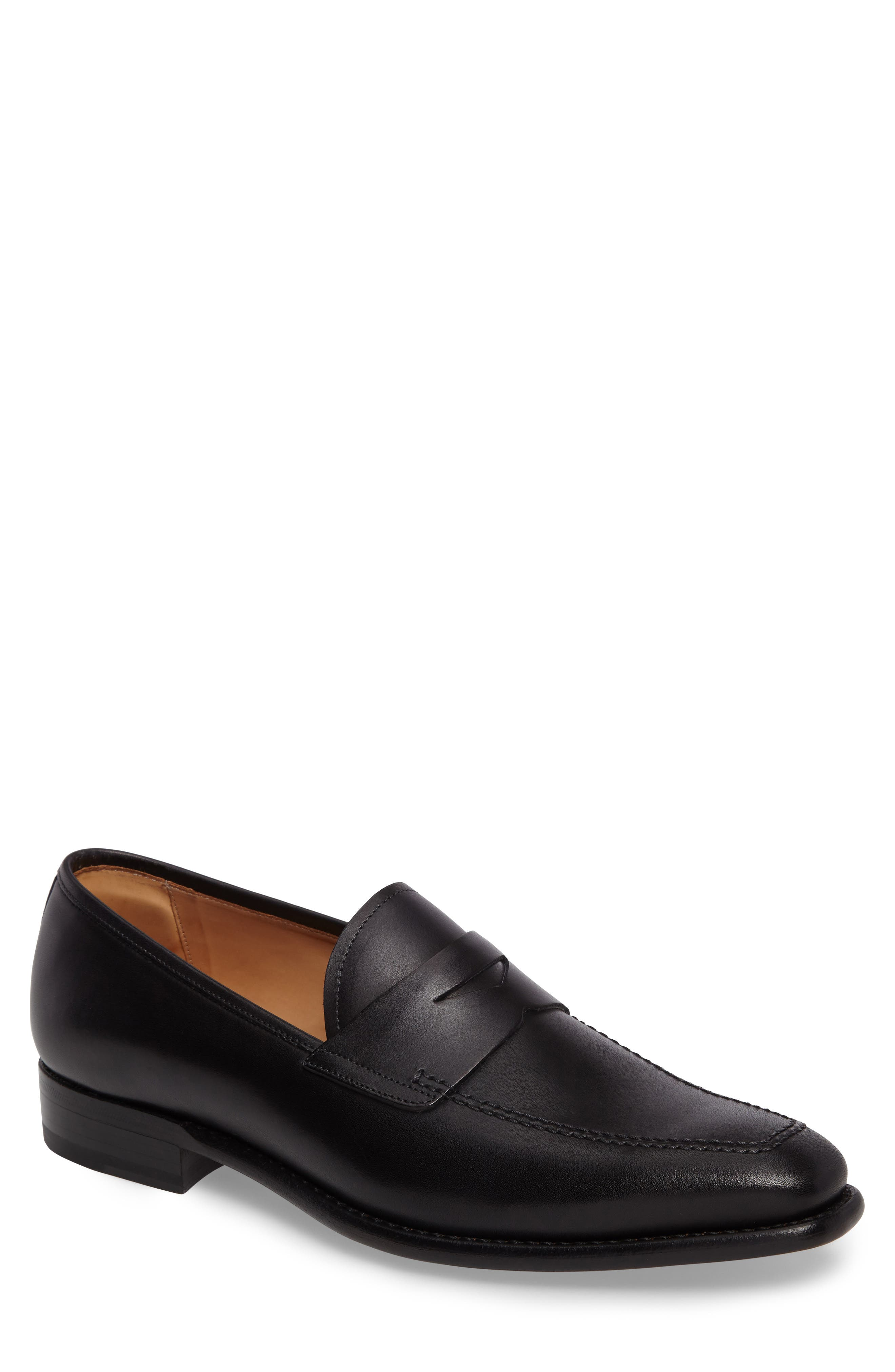 Claude Penny Loafer,                             Main thumbnail 1, color,                             008
