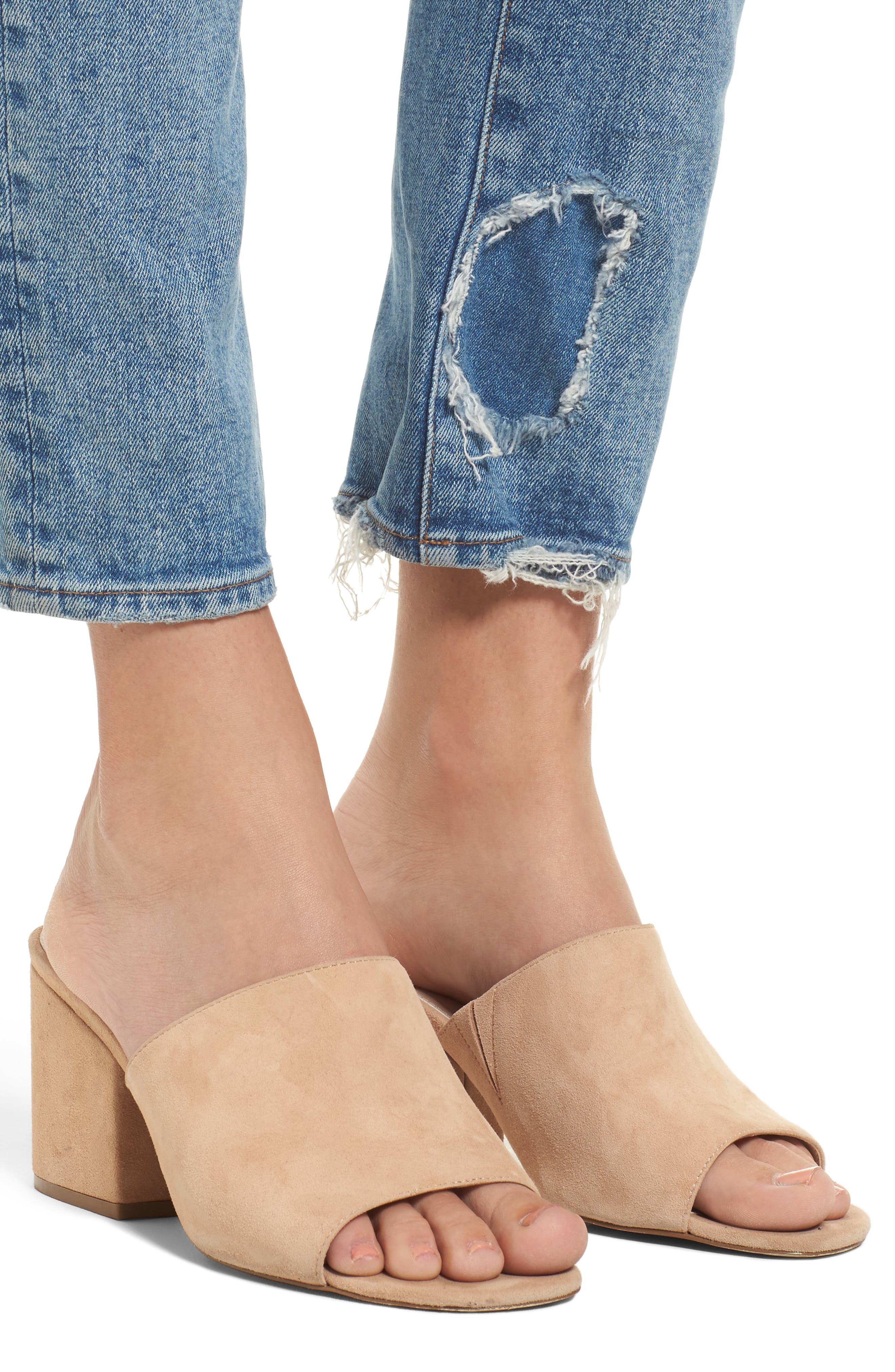 Bella Vintage Ankle Skinny Jeans,                             Alternate thumbnail 4, color,                             430