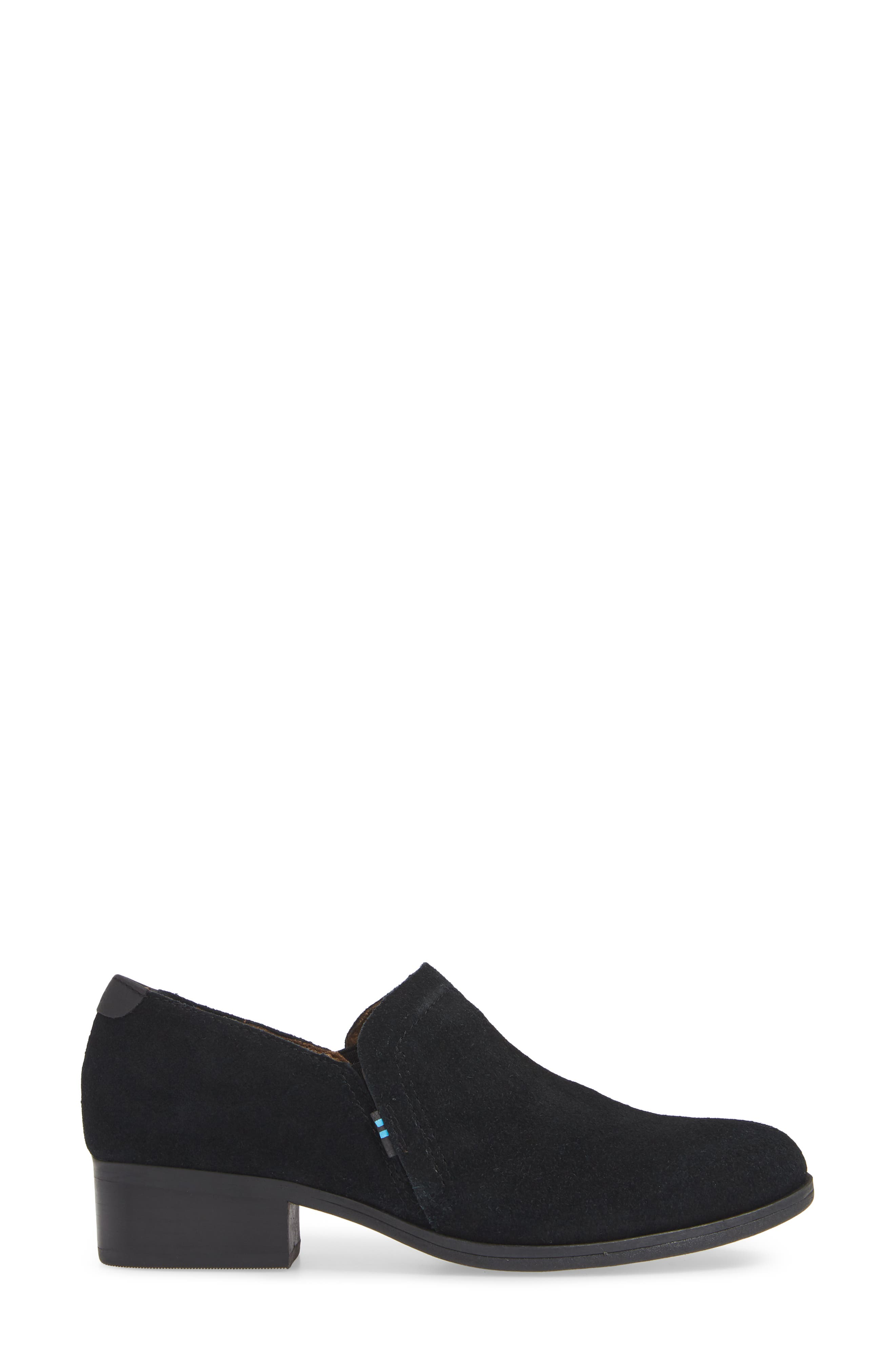 TOMS,                             Shaye Bootie,                             Alternate thumbnail 3, color,                             001