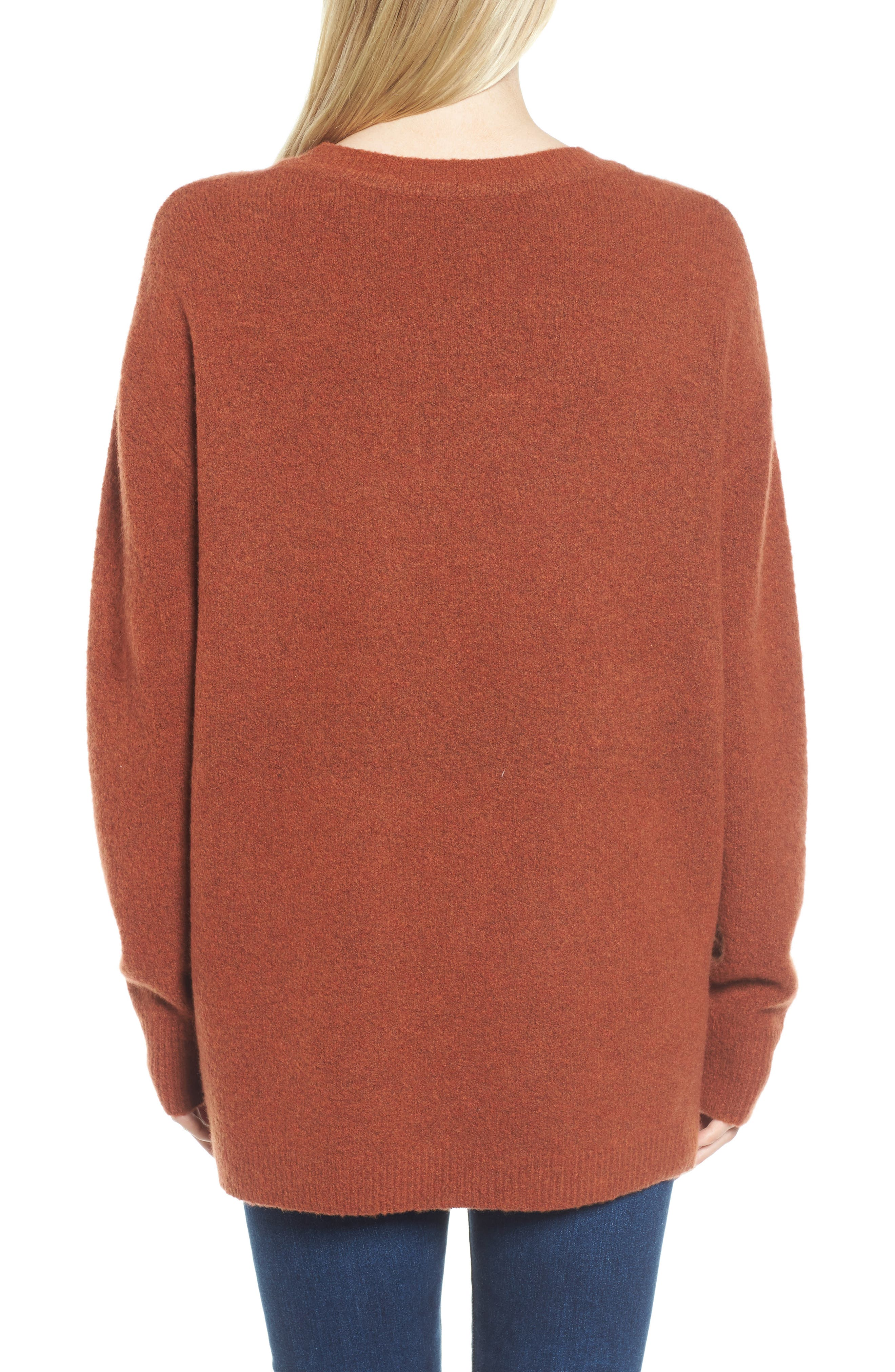 Oversize Cashmere Sweater,                             Alternate thumbnail 2, color,                             806
