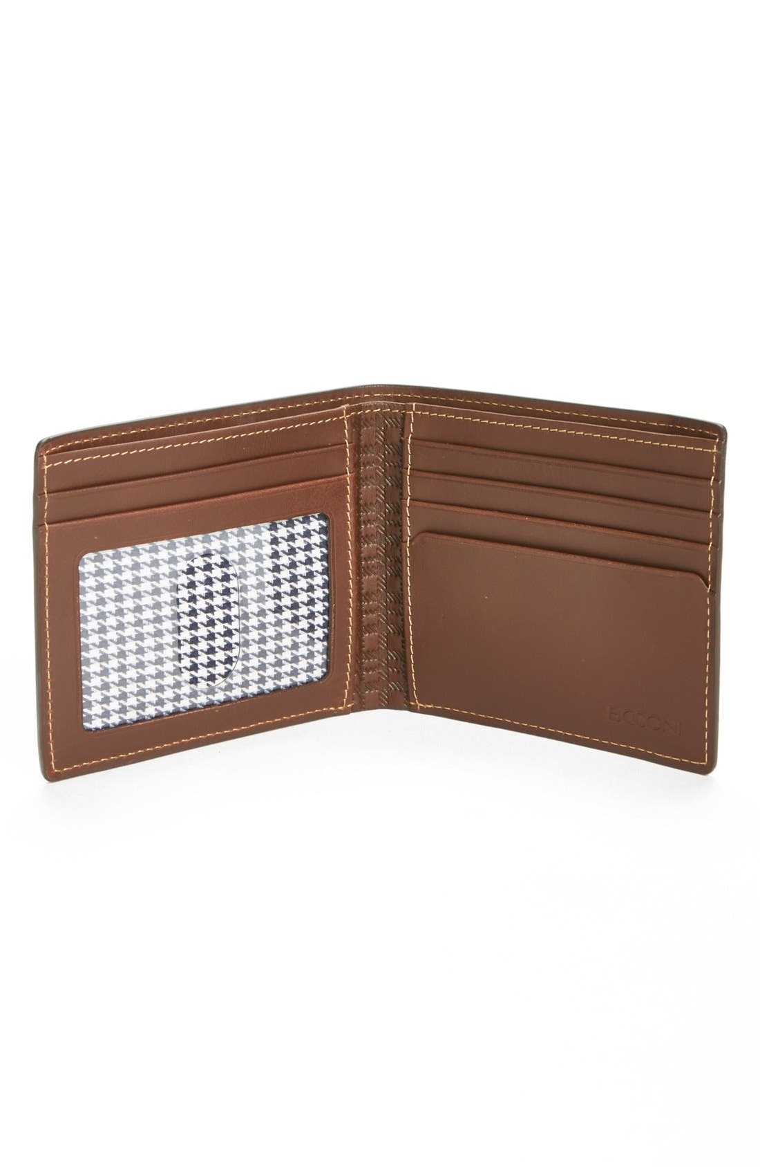 'Bryant' RFID Blocker Slimfold Wallet,                             Alternate thumbnail 6, color,                             ANTIQUE MAHOGANY