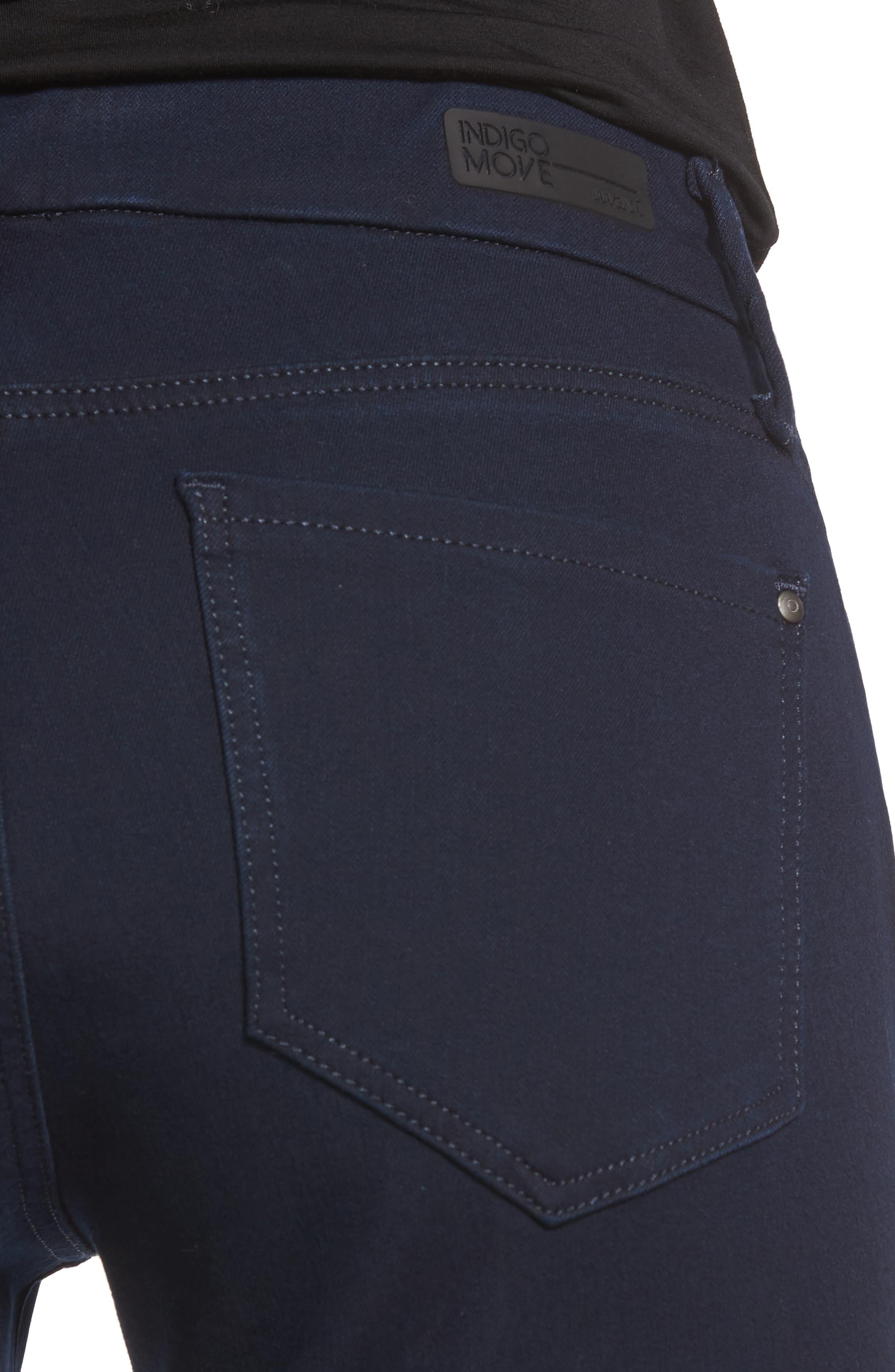 Alexa Stretch Skinny Jeans,                             Alternate thumbnail 4, color,                             401