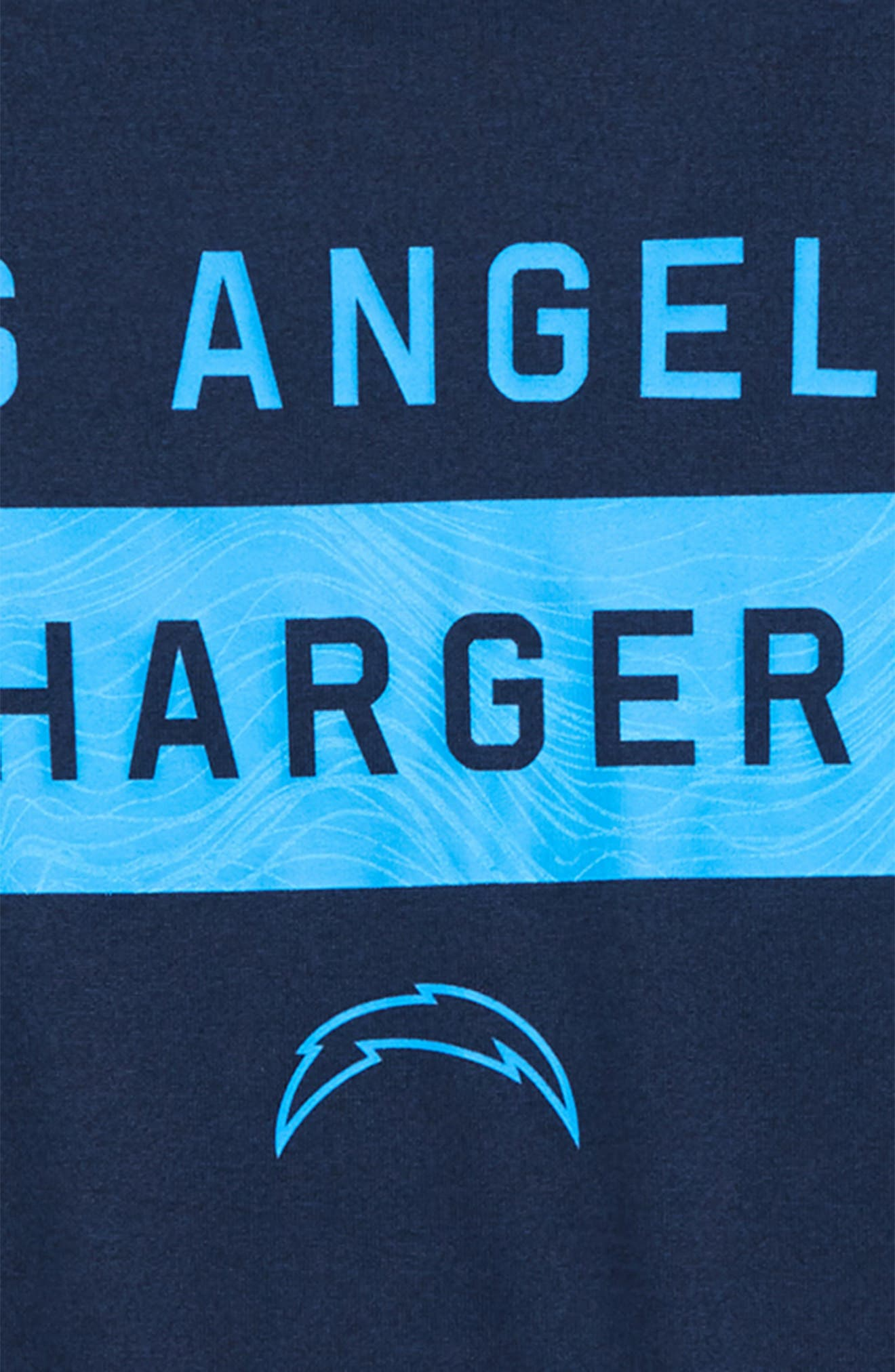 NFL Los Angeles Chargers Dry Legend Lift T-Shirt,                             Alternate thumbnail 2, color,                             NAVY