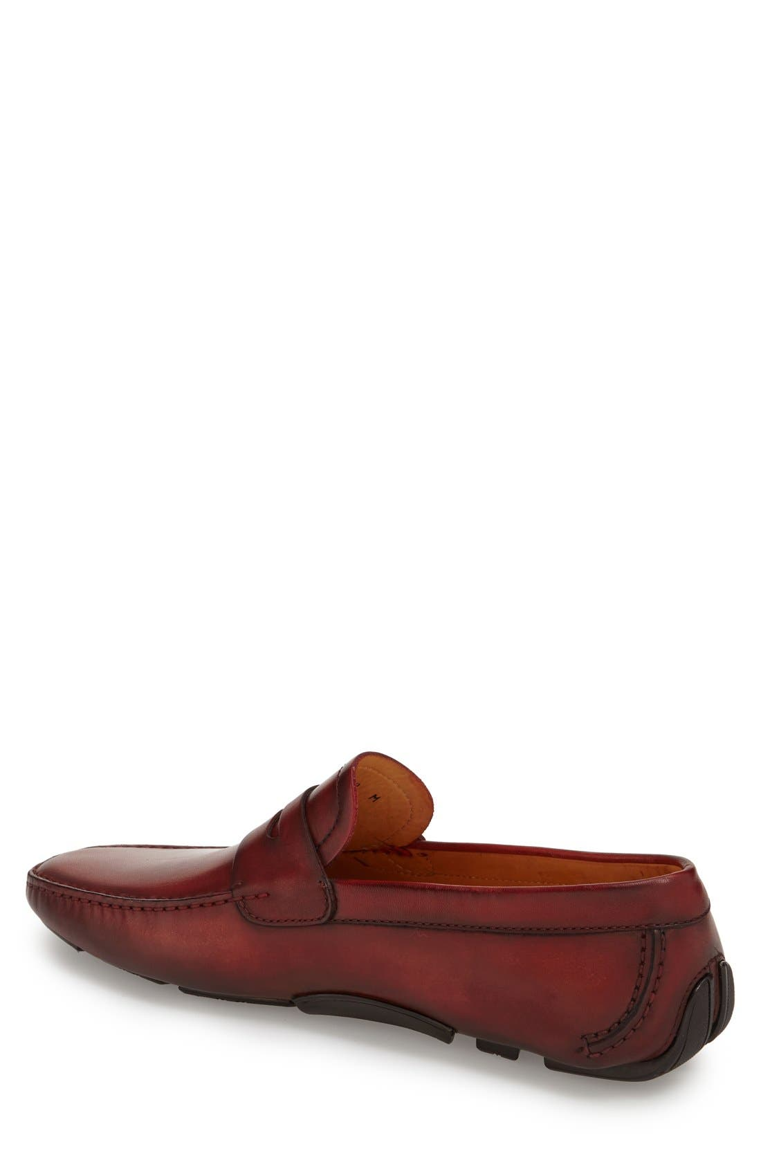 'Dylan' Leather Driving Shoe,                             Alternate thumbnail 18, color,