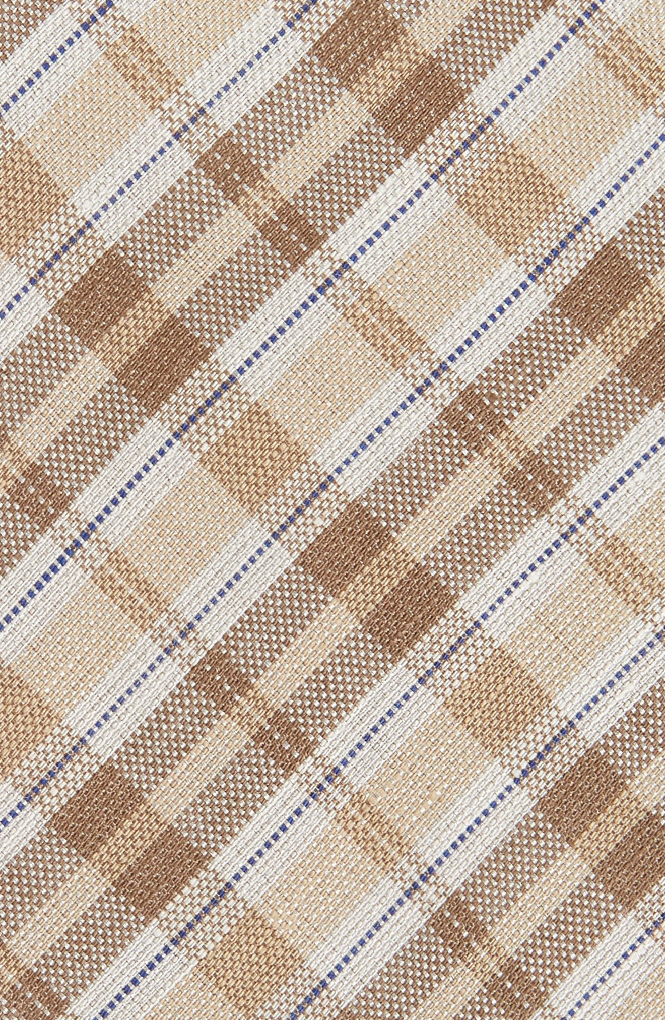 DAVID DONAHUE,                             Plaid Linen & Silk Tie,                             Alternate thumbnail 2, color,                             294