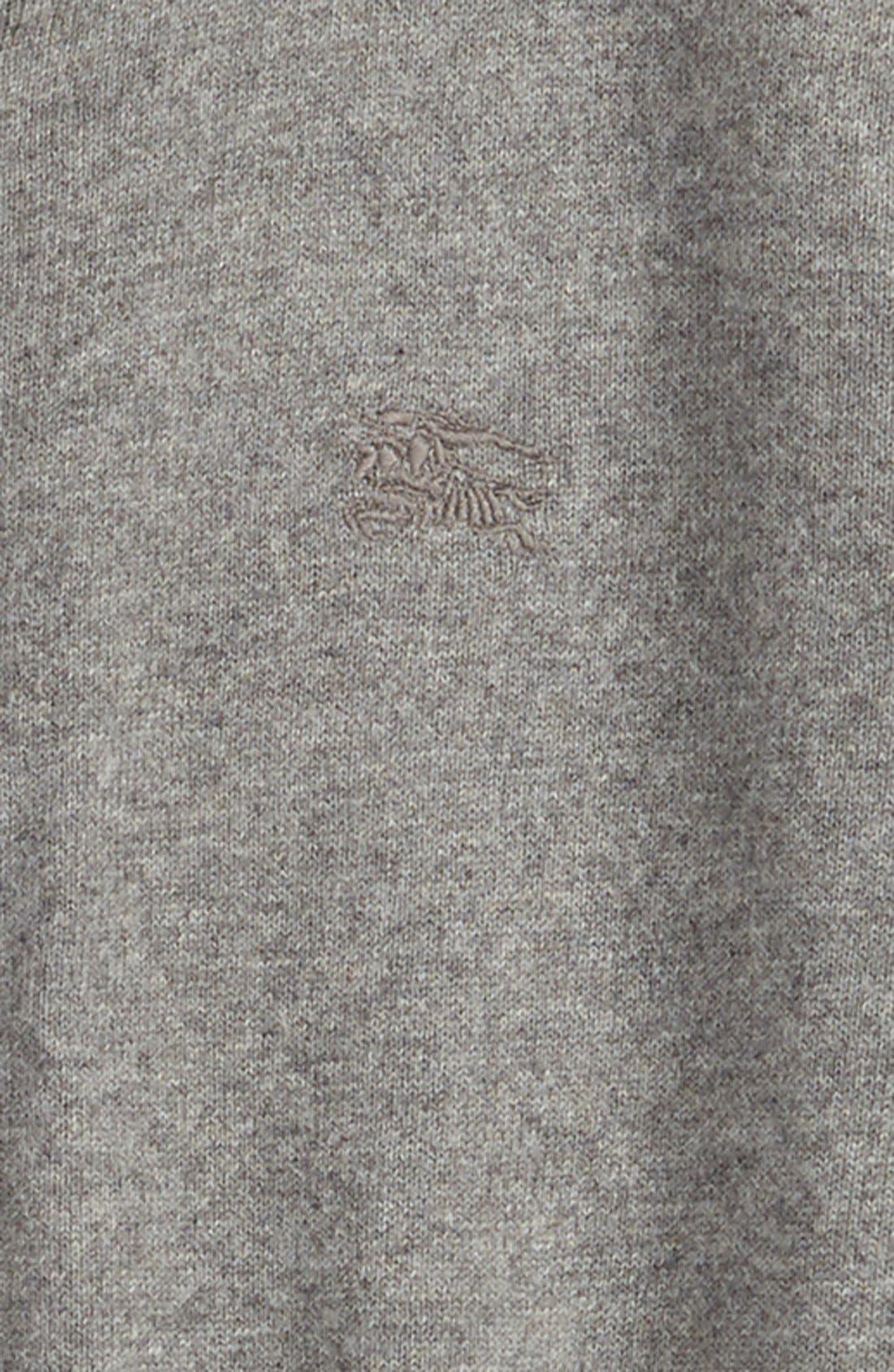 'Jaxon' Zip Front Cotton Cardigan,                             Alternate thumbnail 2, color,