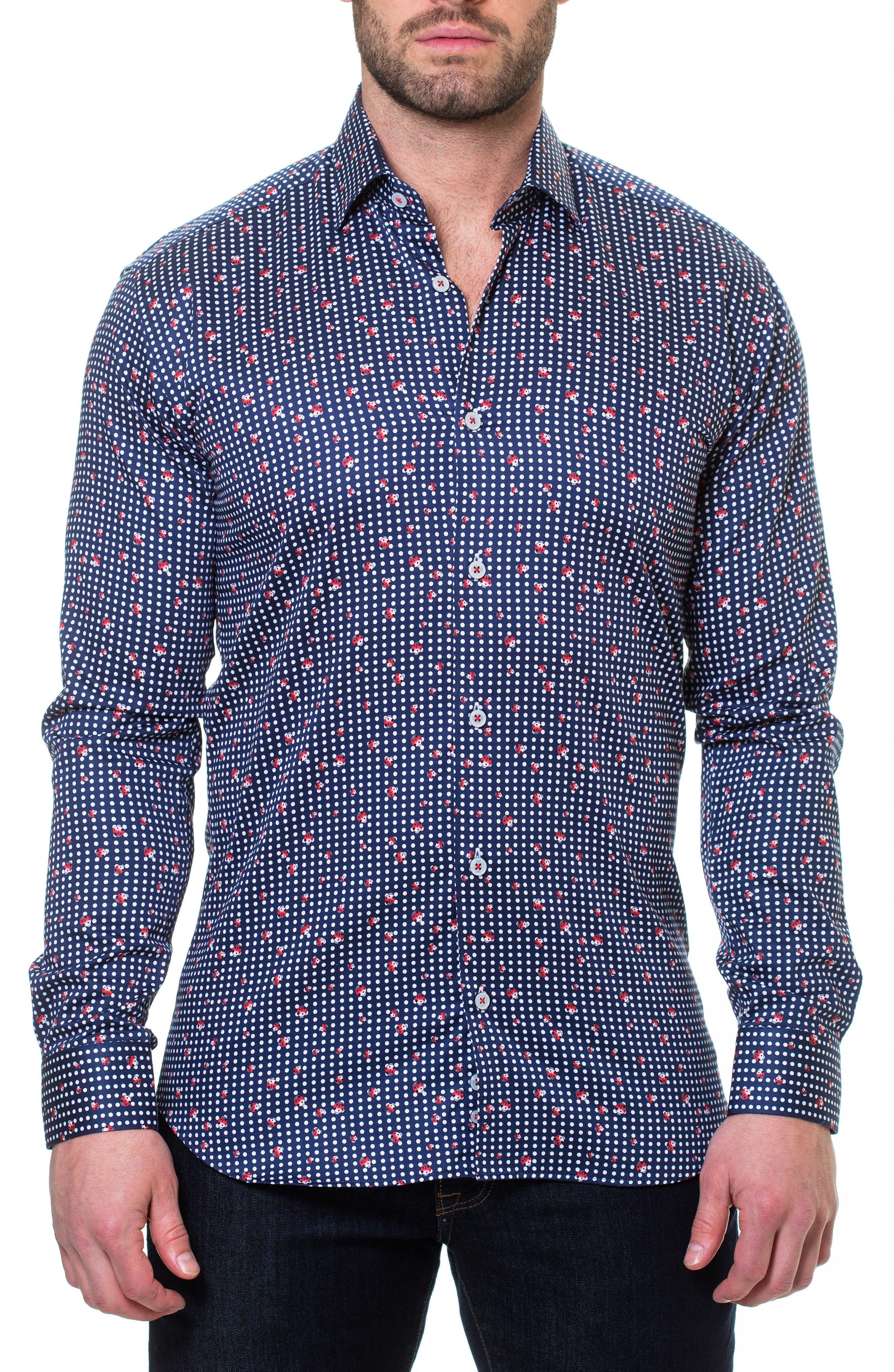 Luxor Ladybug Sport Shirt,                         Main,                         color, 420