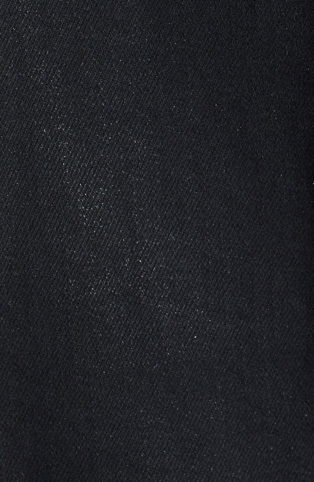 'Cynic' Moto Jacket,                             Alternate thumbnail 4, color,                             001