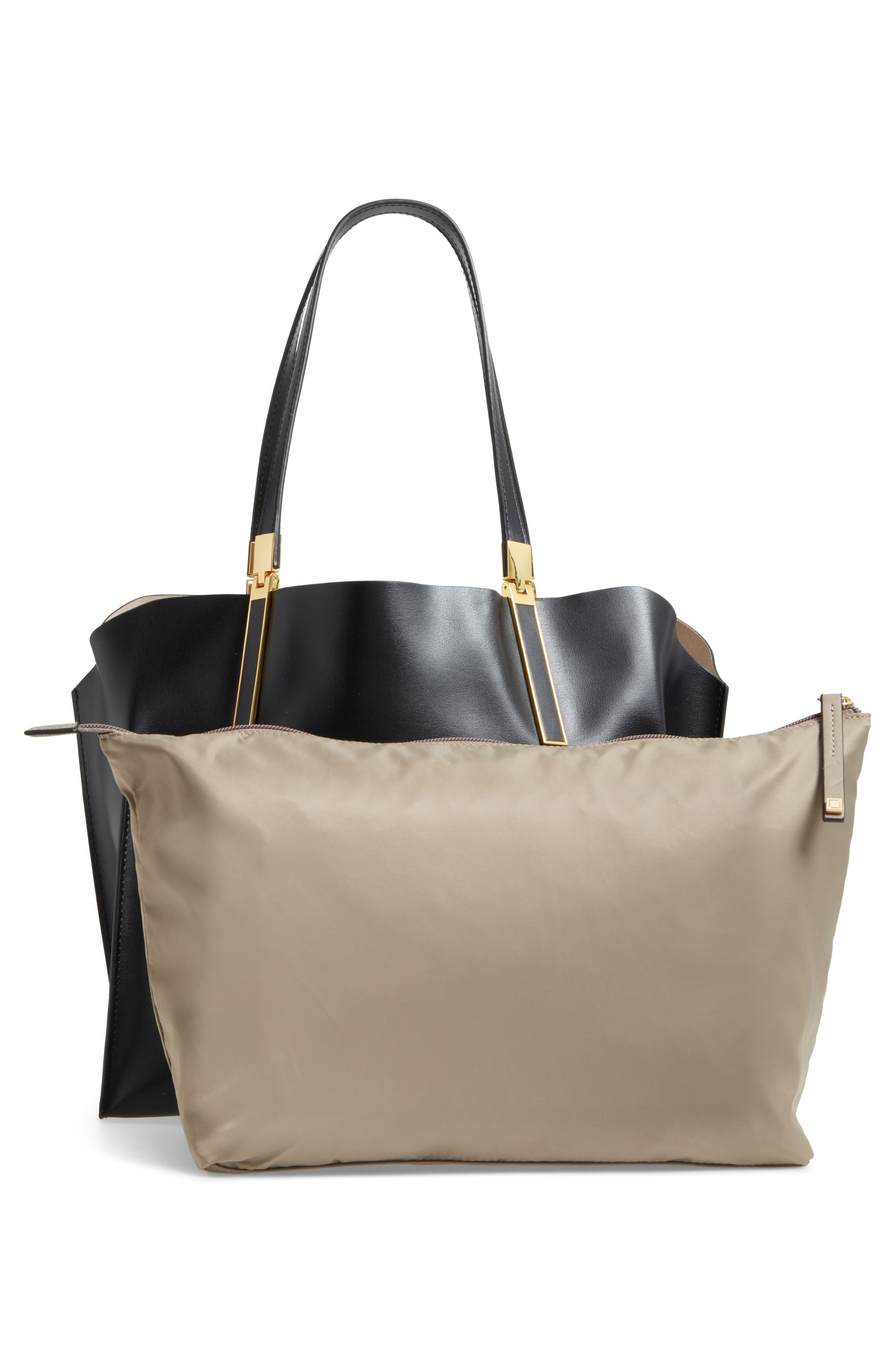 LODIS Silicon Valley Collection Under Lock & Key - Anita RFID East/West Leather Satchel,                             Alternate thumbnail 3, color,                             001