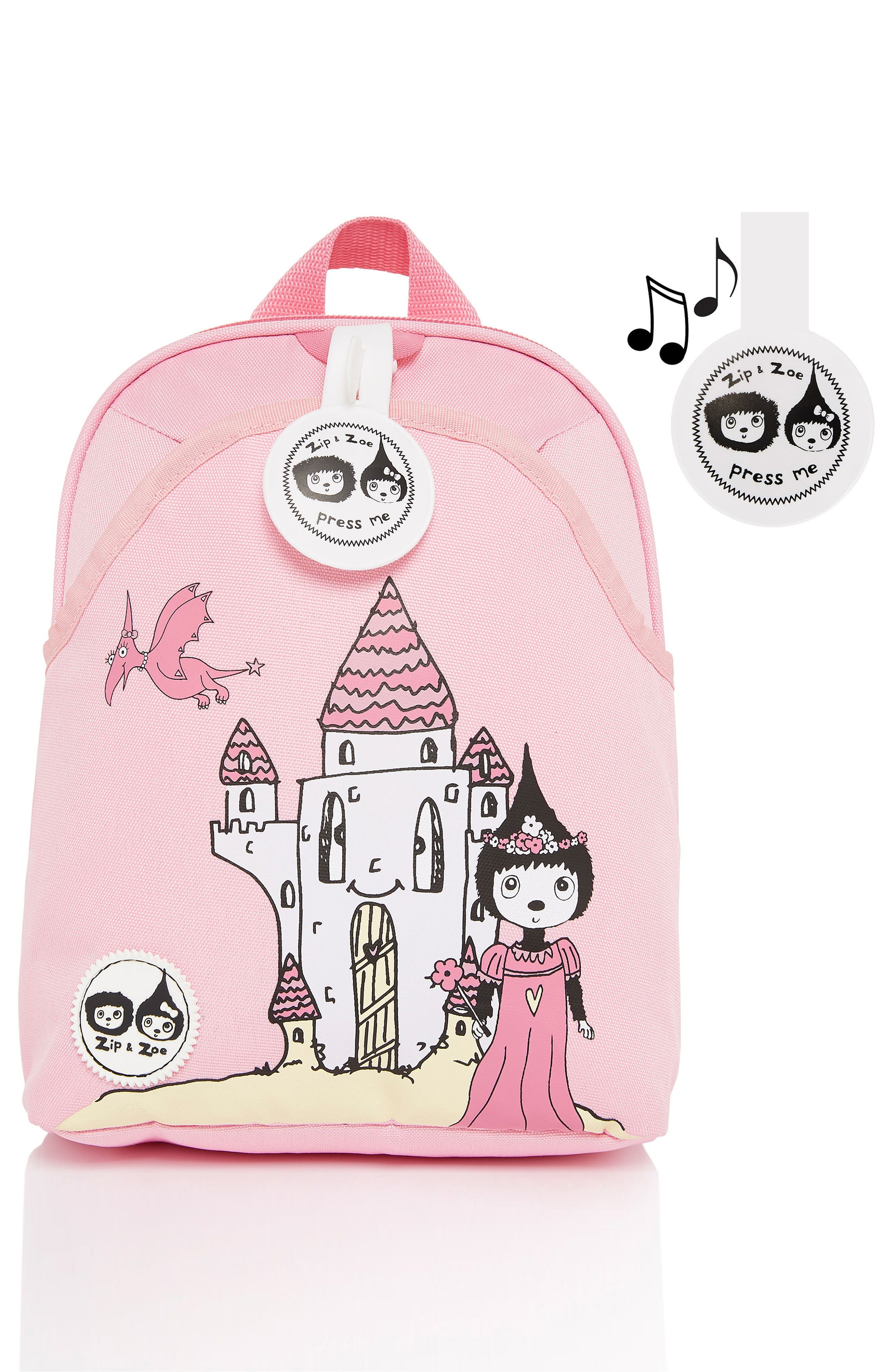 Graphic Mini Backpack,                             Alternate thumbnail 3, color,                             DAISY DRAGON CASTLE