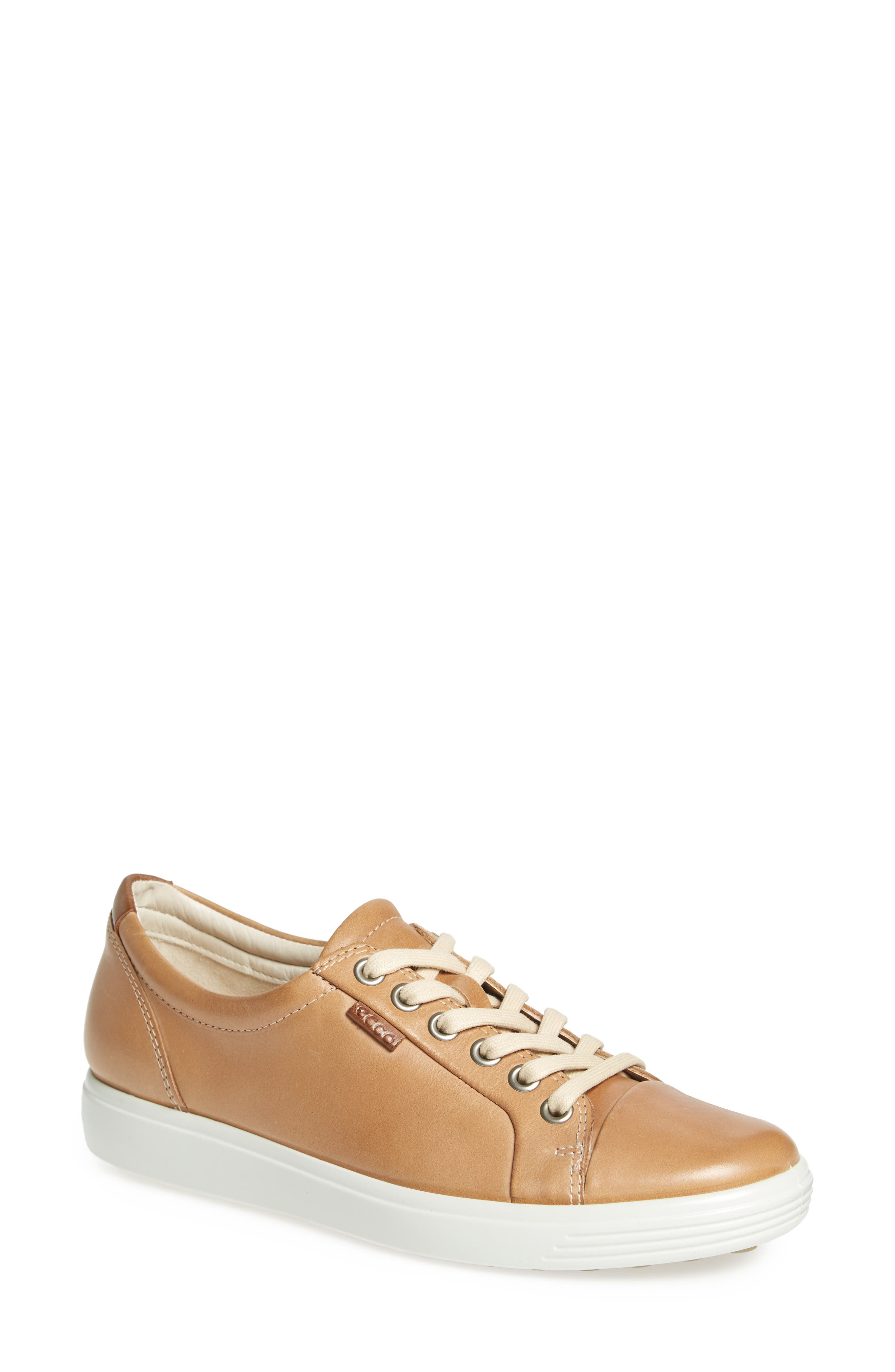 Soft 7 Sneaker,                             Main thumbnail 1, color,                             POWDER LEATHER