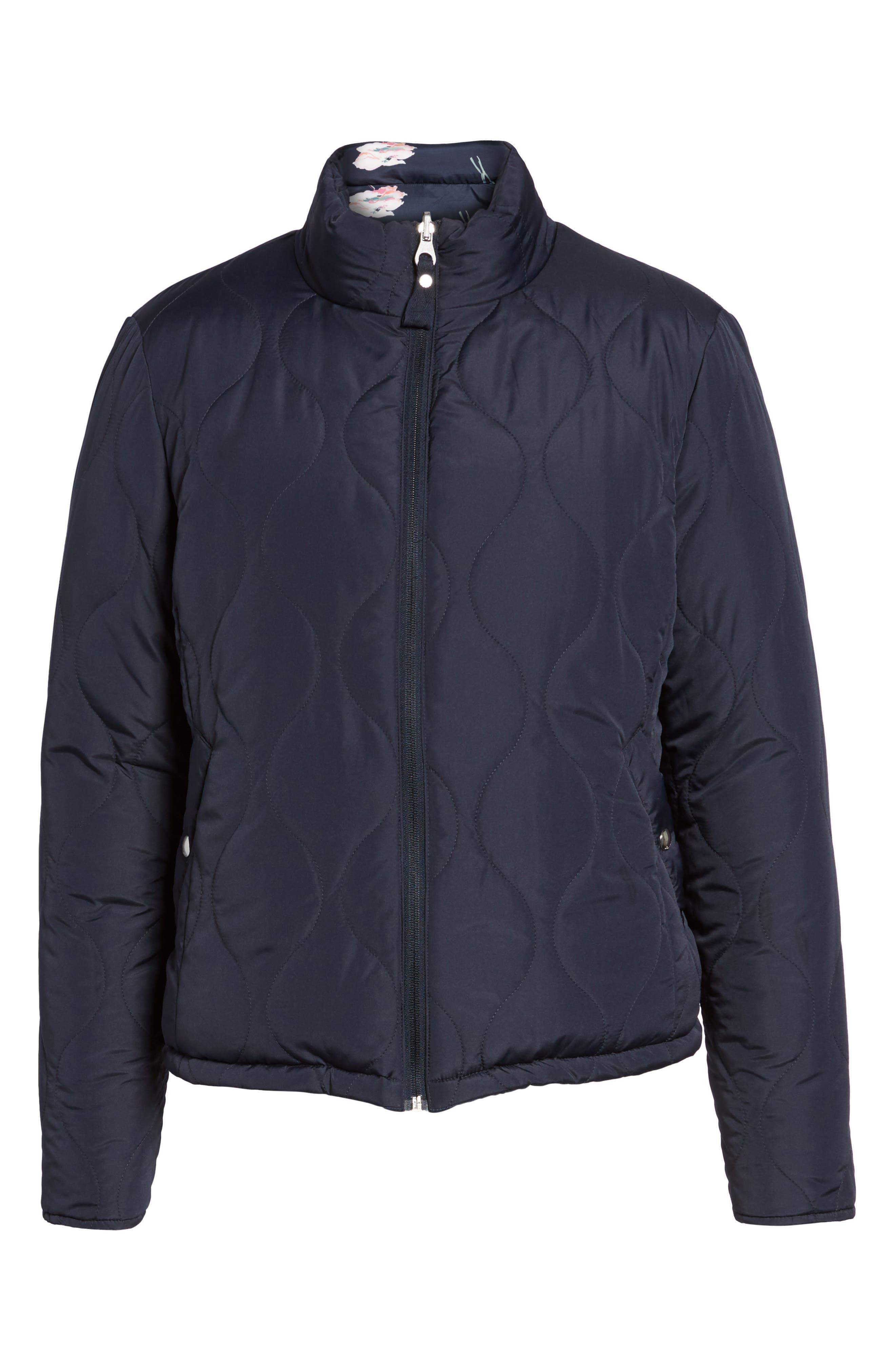 Reversible Puffer Jacket,                             Alternate thumbnail 5, color,                             407